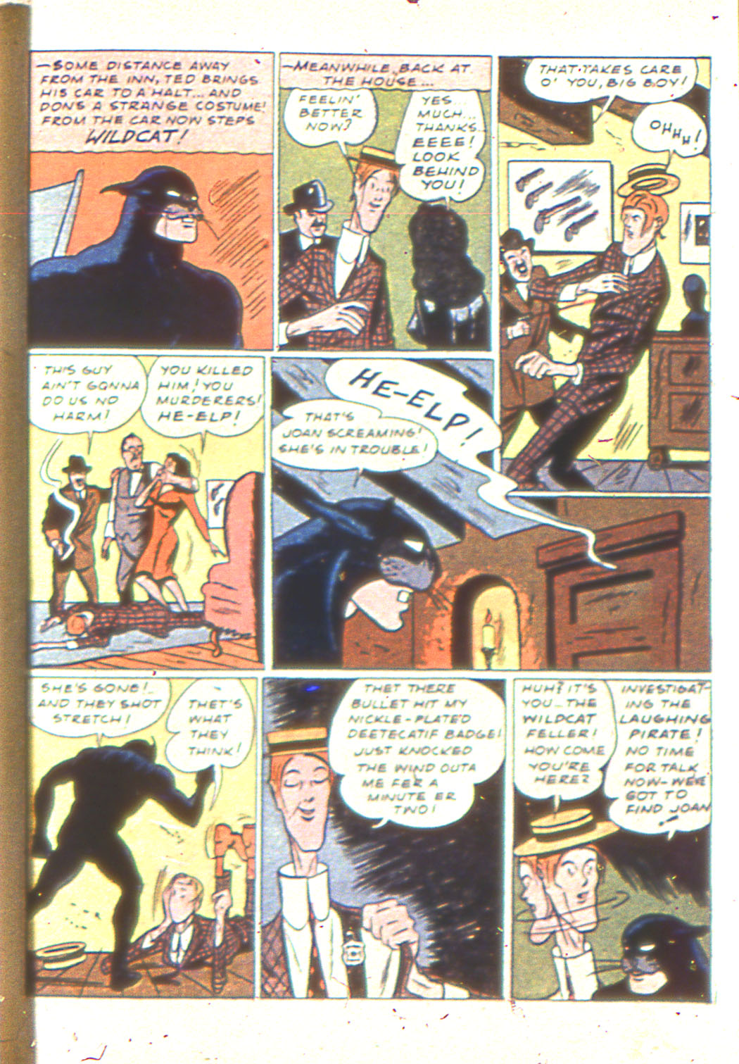 Read online Sensation (Mystery) Comics comic -  Issue #6 - 61