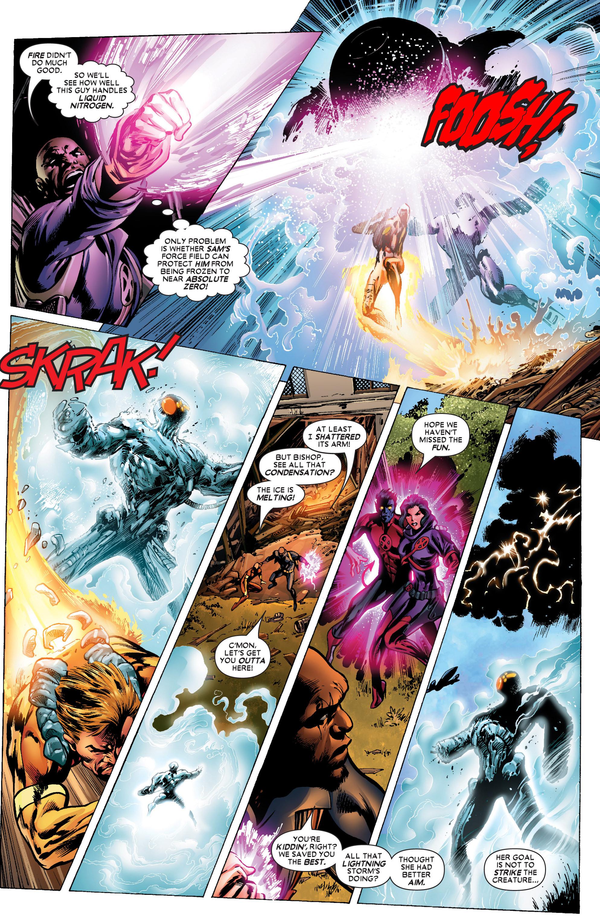 Read online Uncanny X-Men (1963) comic -  Issue #447 - 11