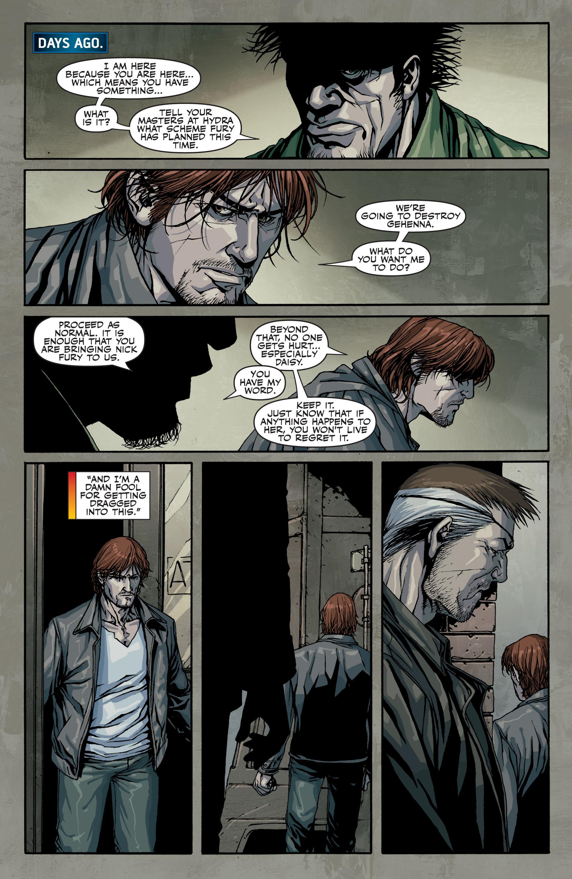 Read online Secret Warriors comic -  Issue #22 - 15