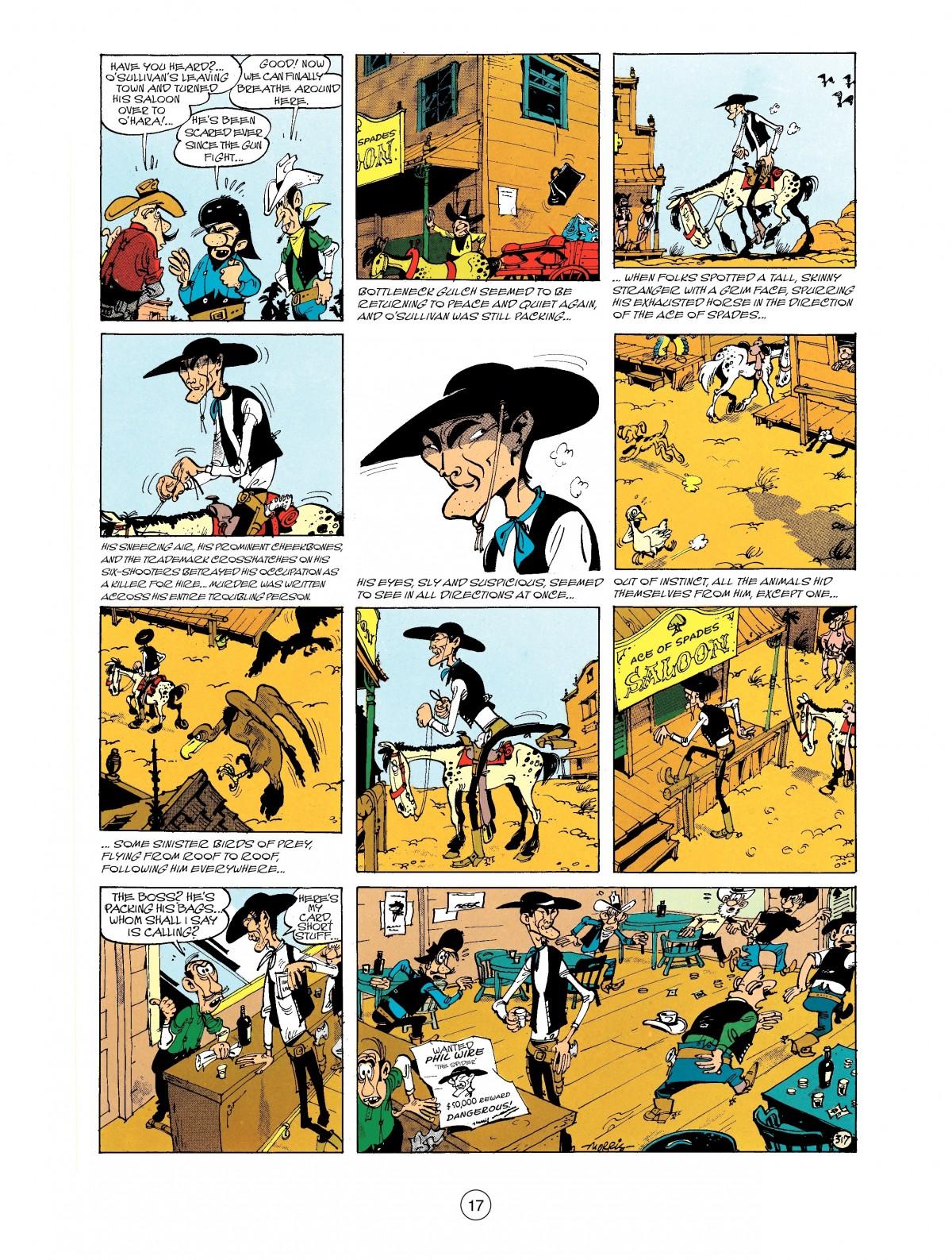 Read online A Lucky Luke Adventure comic -  Issue #40 - 17