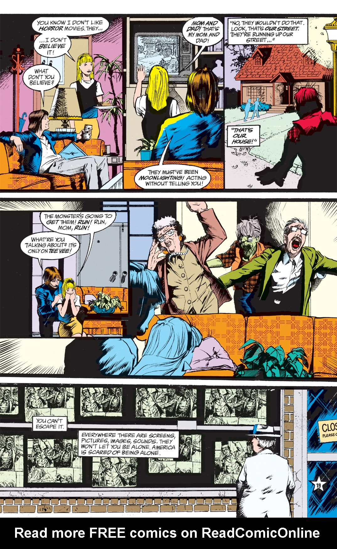 Read online Shade, the Changing Man comic -  Issue #5 - 21
