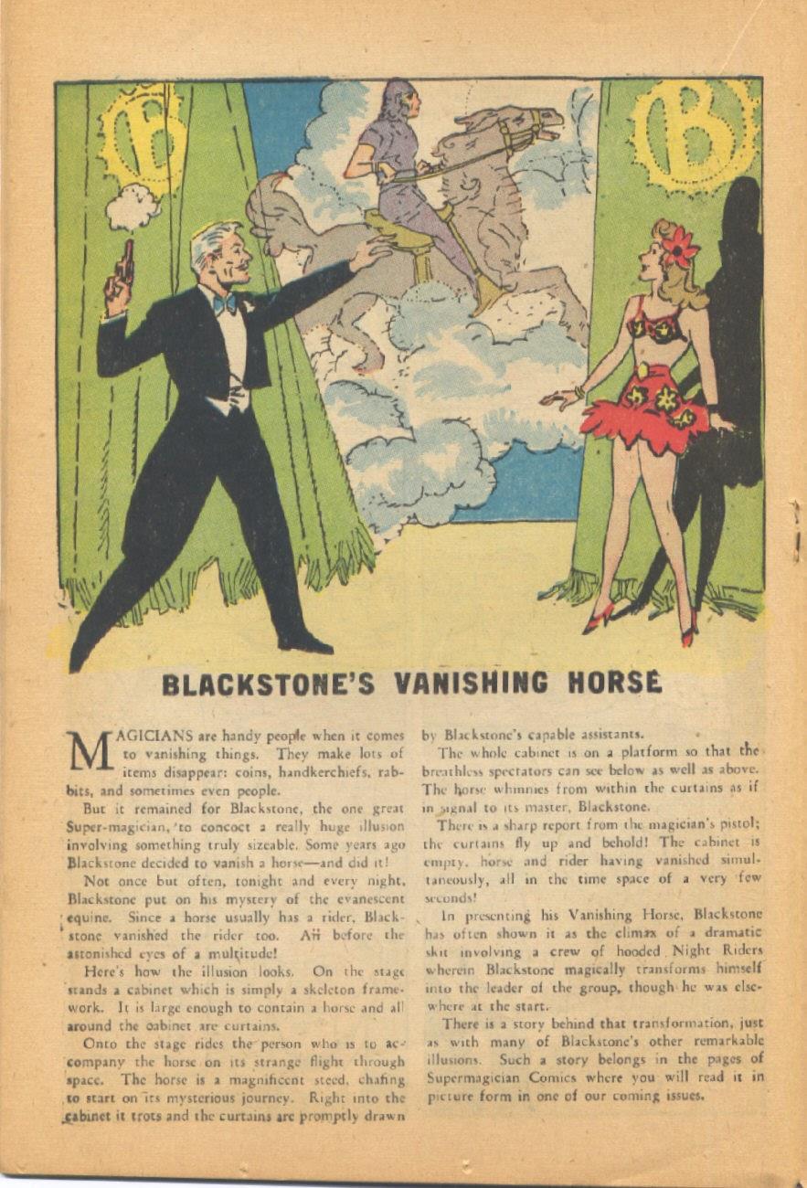 Read online Super-Magician Comics comic -  Issue #44 - 22