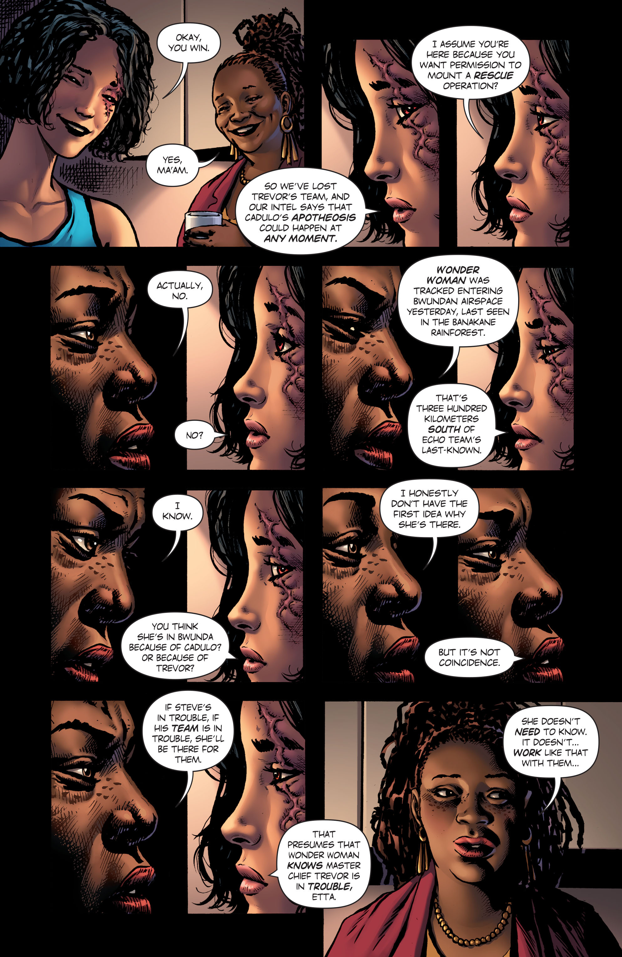 Read online Wonder Woman (2016) comic -  Issue #5 - 5
