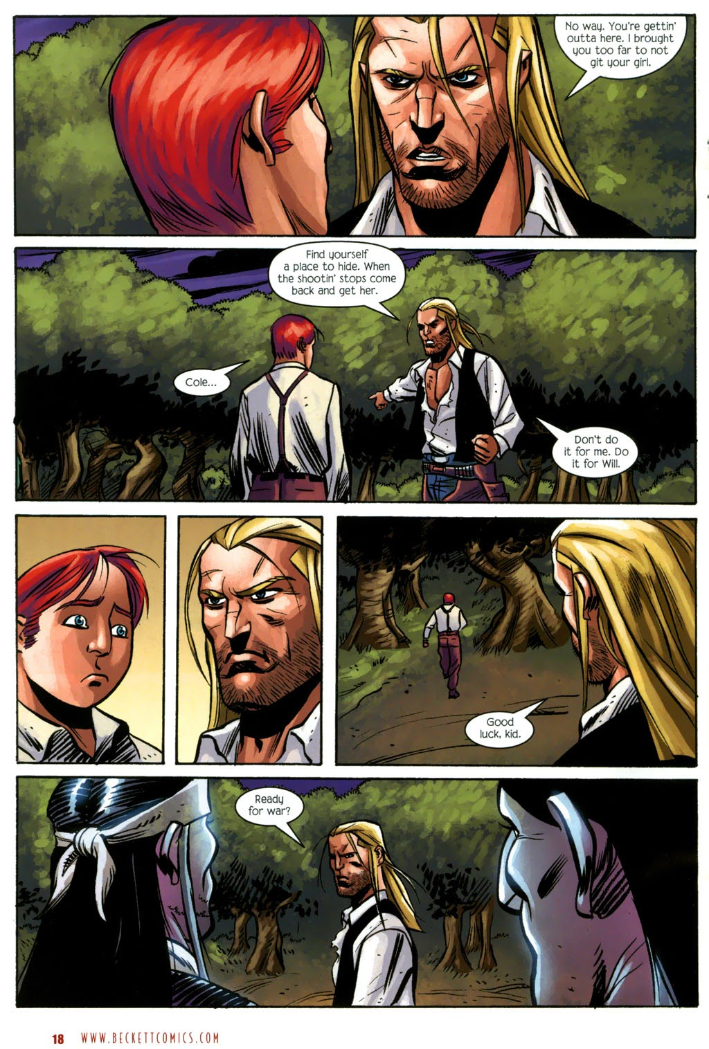 Read online The Ballad of Sleeping Beauty comic -  Issue #7 - 20