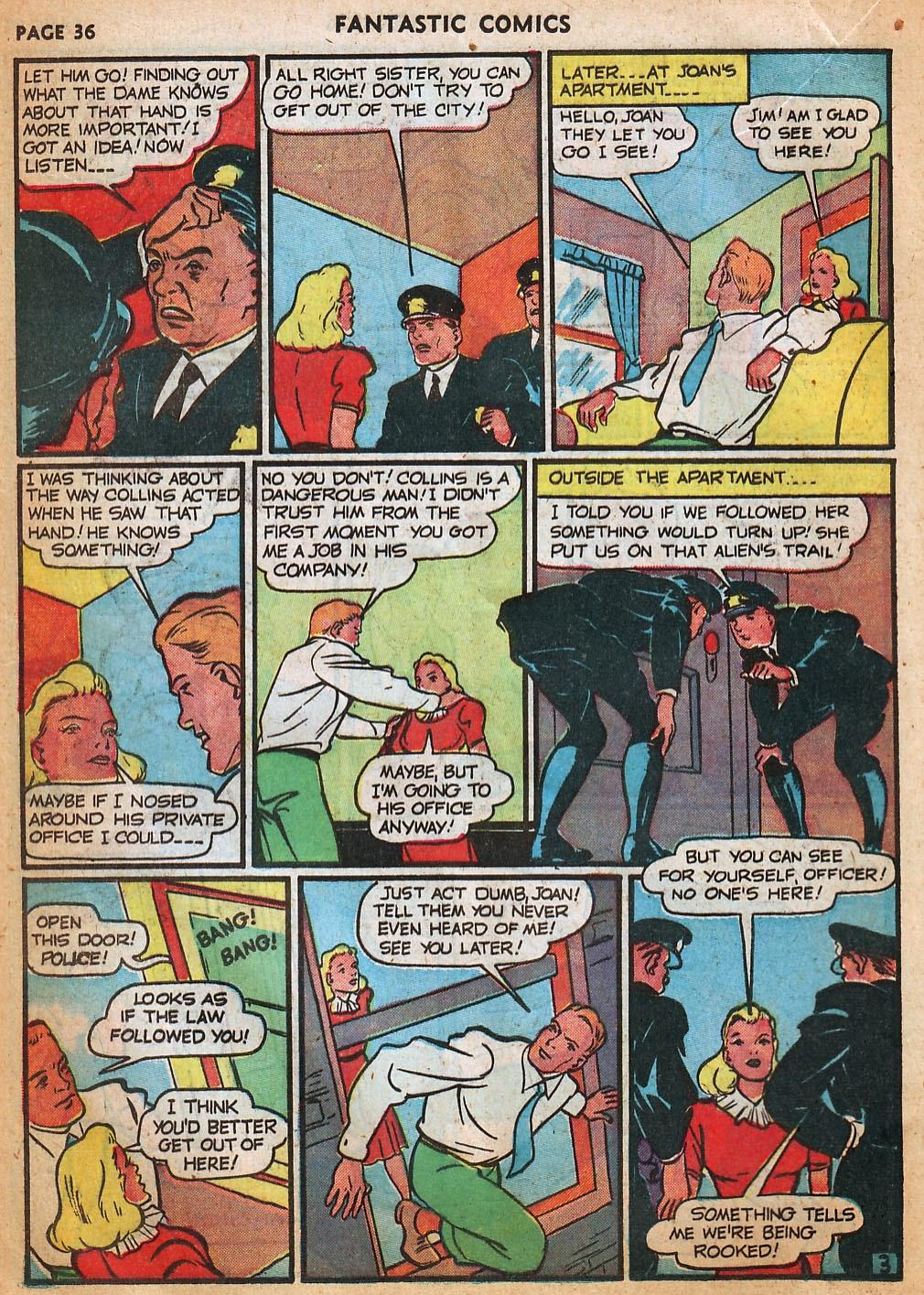 Read online Fantastic Comics comic -  Issue #22 - 37