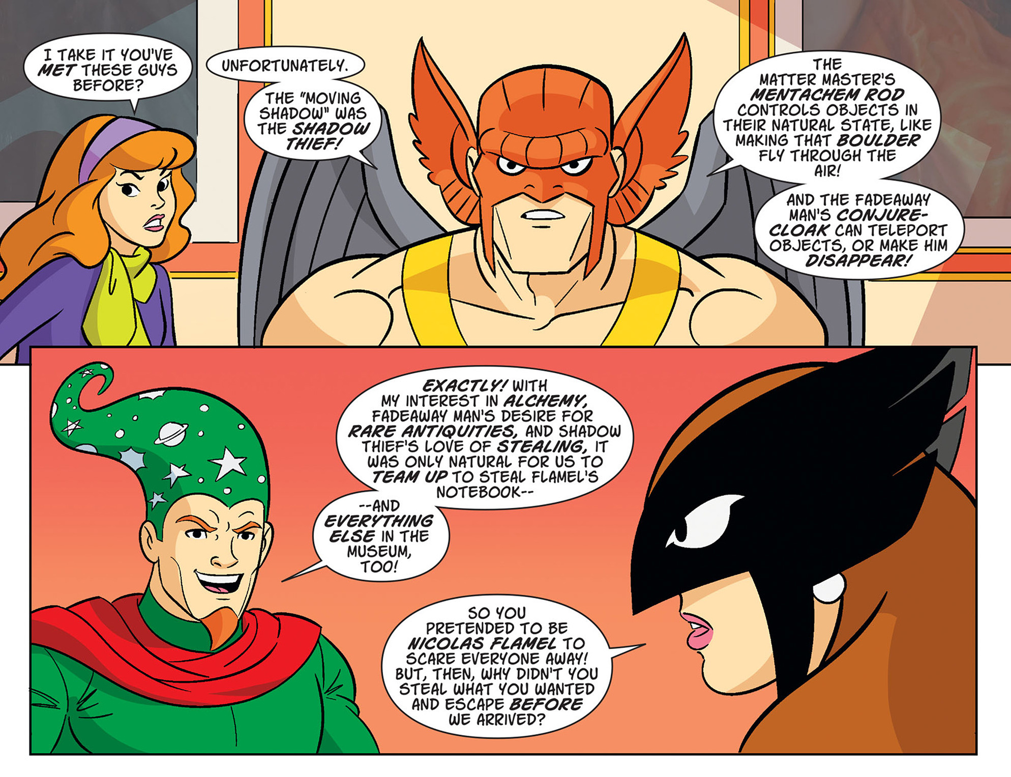 Read online Scooby-Doo! Team-Up comic -  Issue #34 - 4