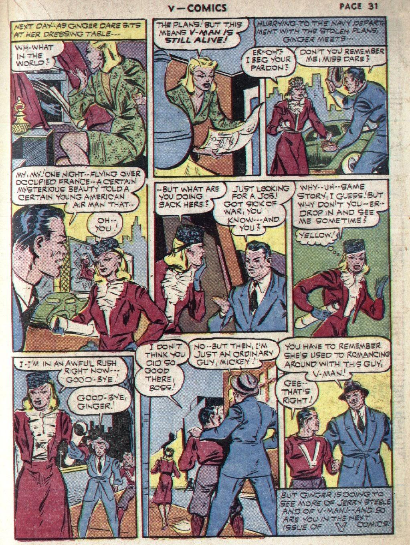 Read online V...- Comics comic -  Issue #1 - 33