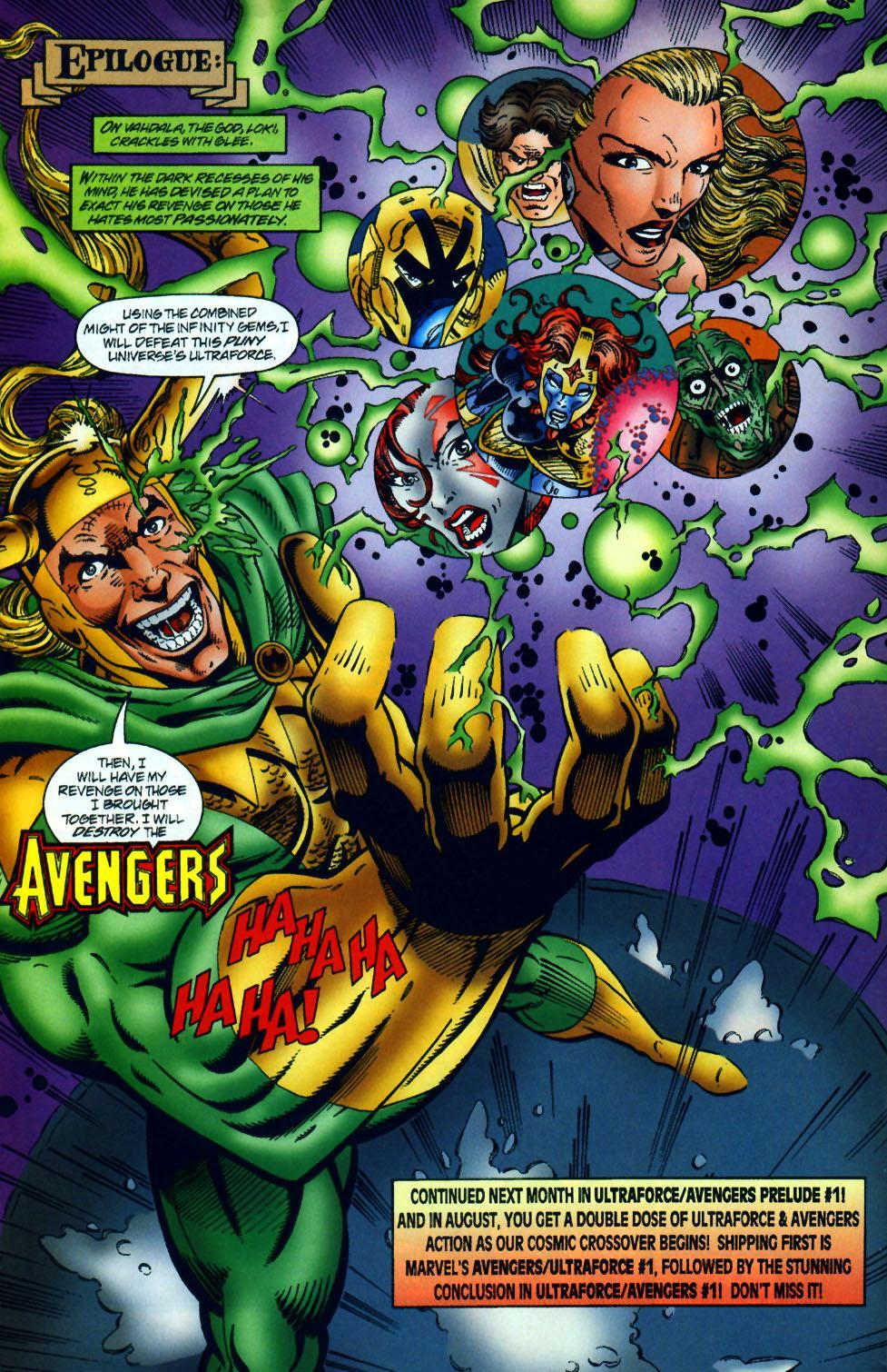 Read online UltraForce (1994) comic -  Issue #10 - 23