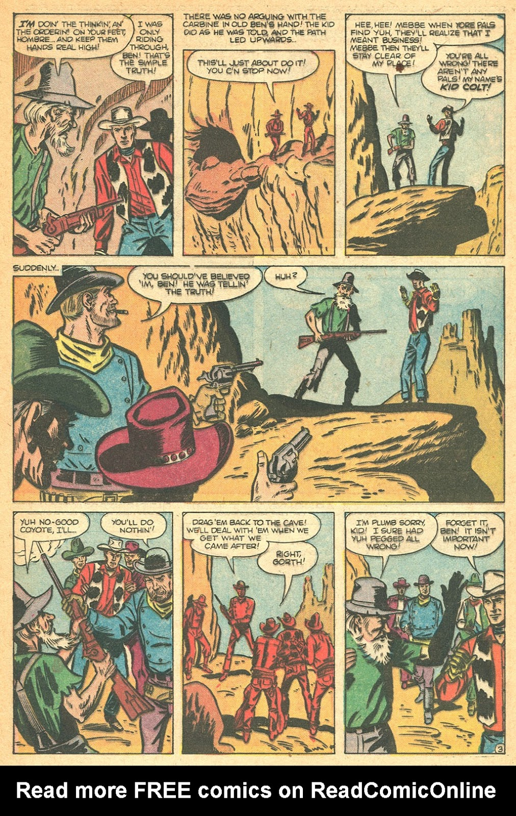 Kid Colt Outlaw issue 53 - Page 29