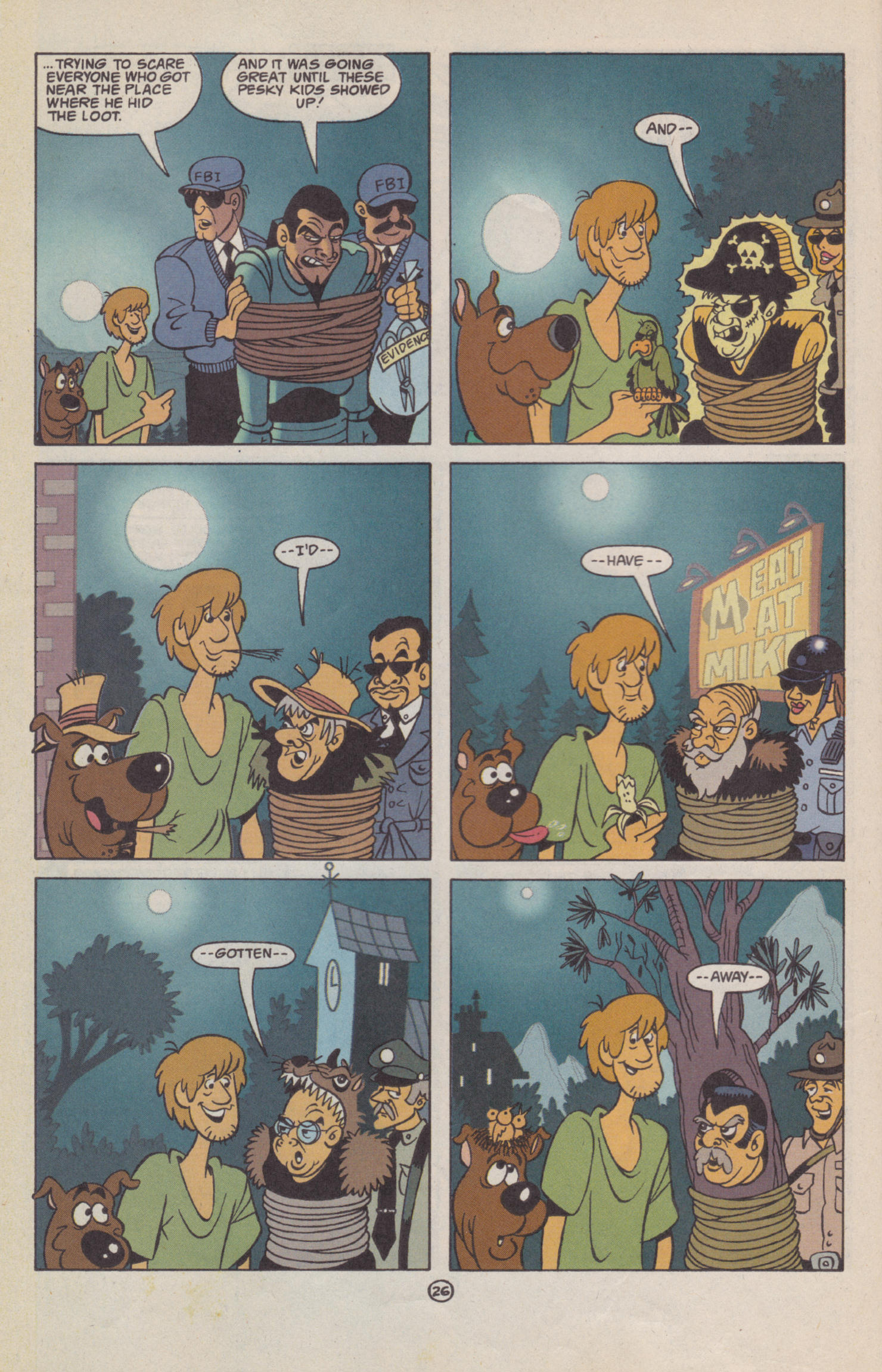 Read online Scooby-Doo (1997) comic -  Issue #2 - 21