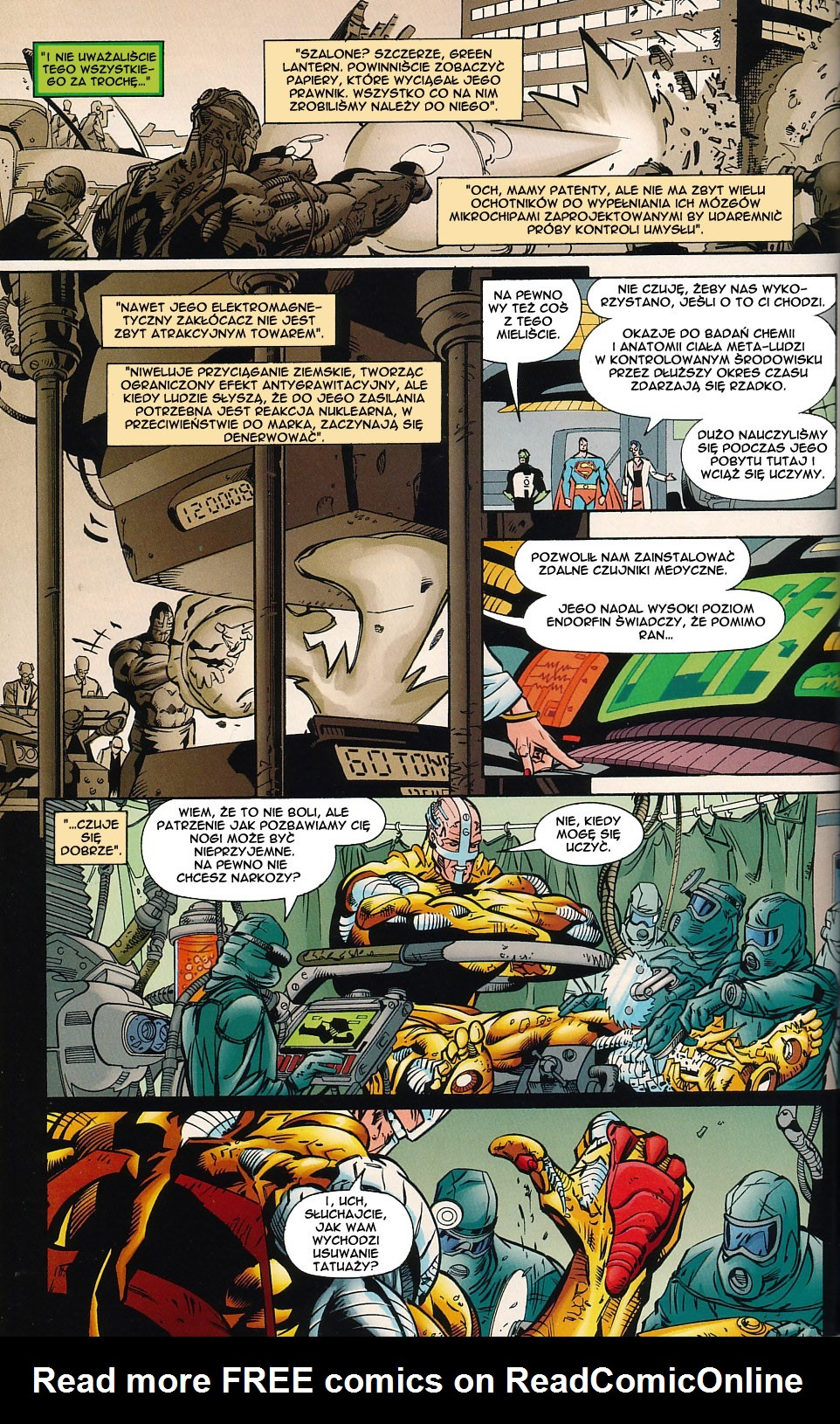 Read online JLA Superpower comic -  Issue # Full - 28