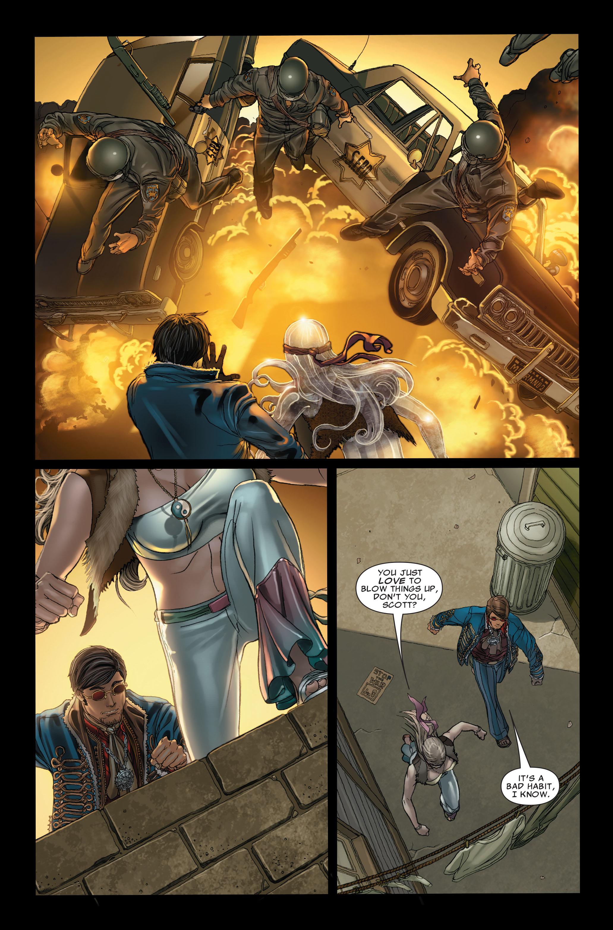 Read online Uncanny X-Men (1963) comic -  Issue #497 - 21