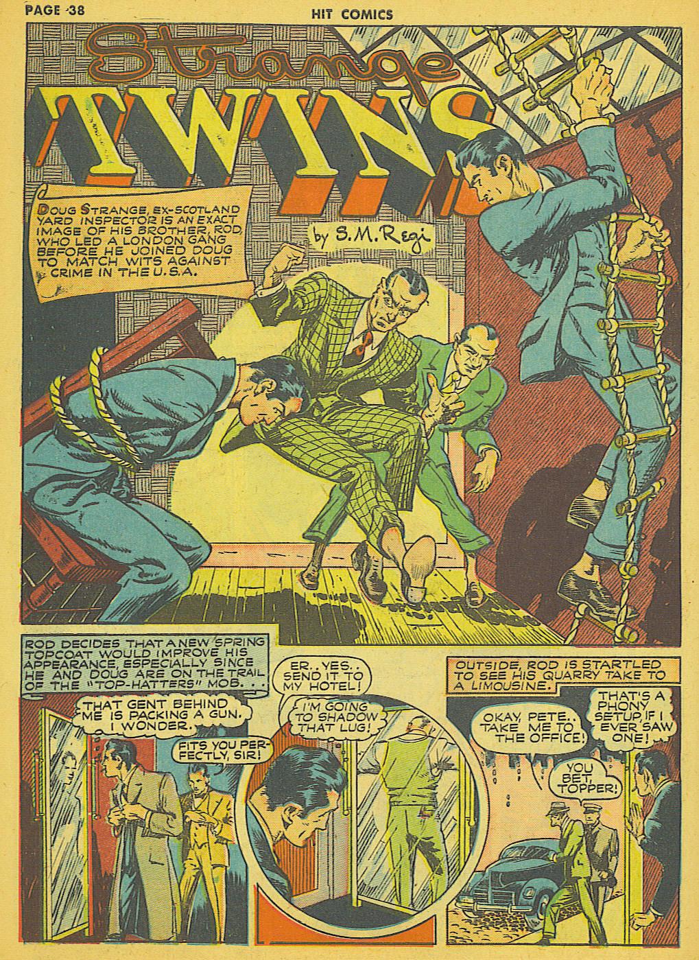 Read online Hit Comics comic -  Issue #21 - 40