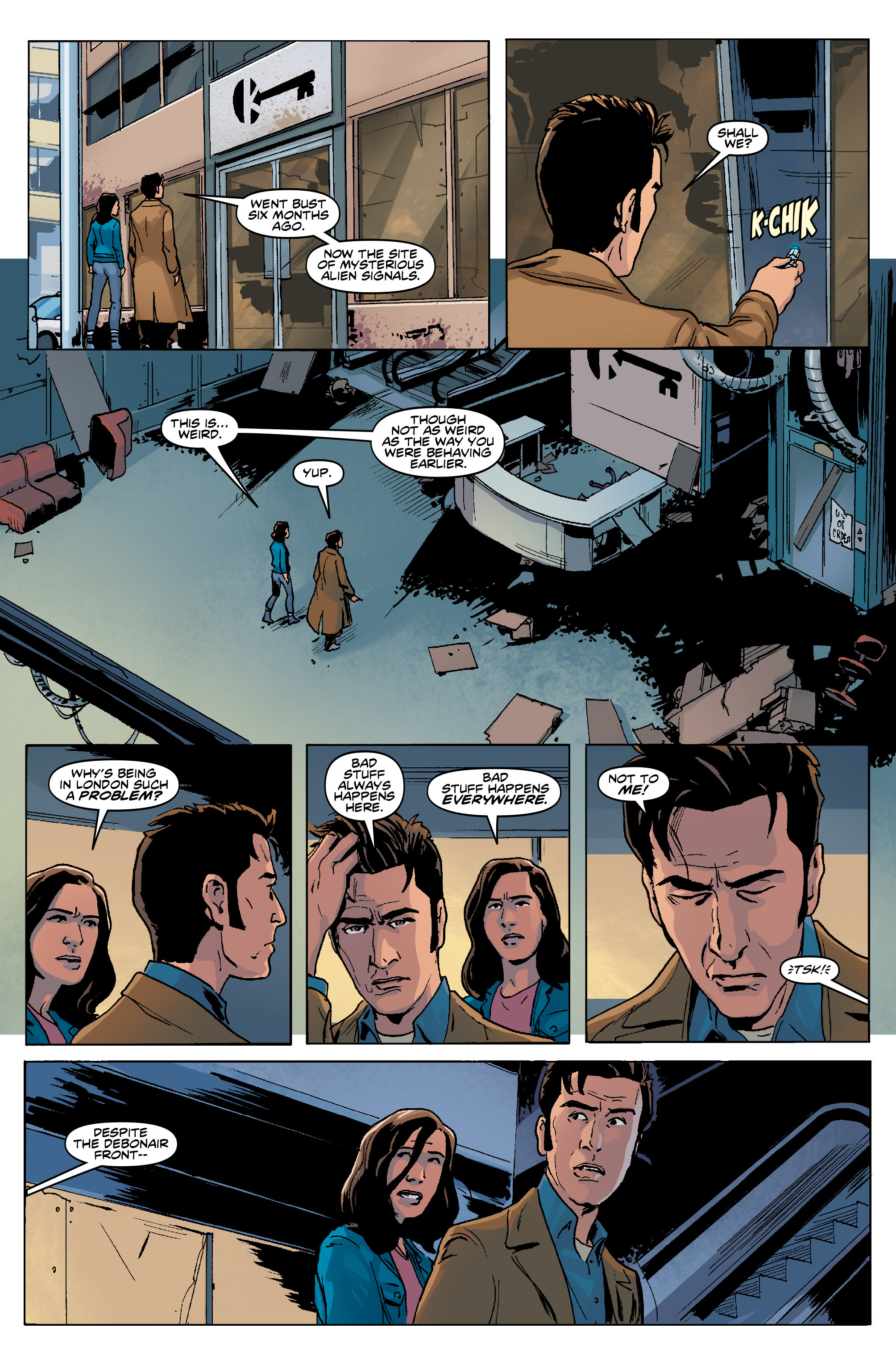 Read online Doctor Who: The Tenth Doctor Year Three comic -  Issue #5 - 13