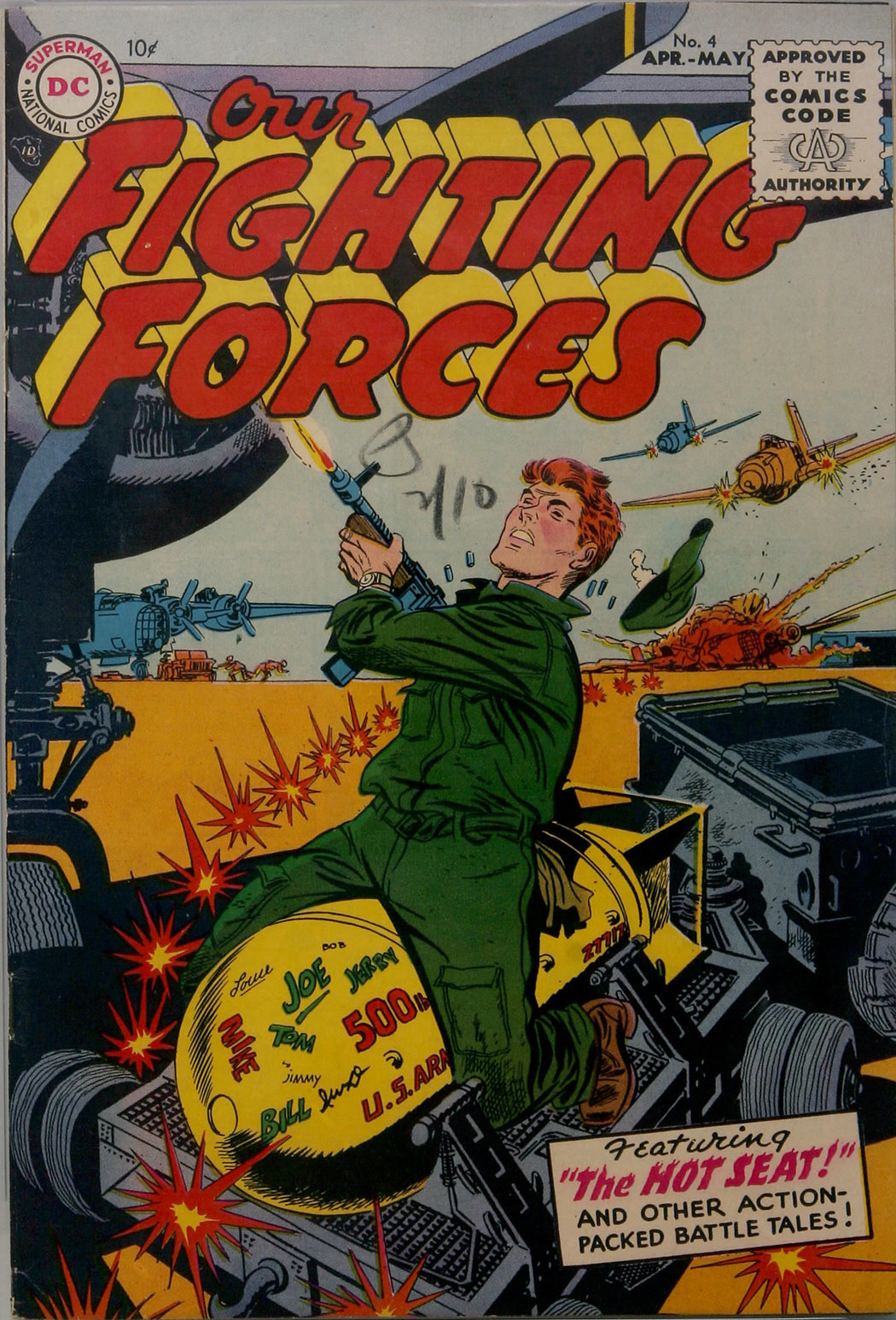 Our Fighting Forces (1954) issue 4 - Page 1