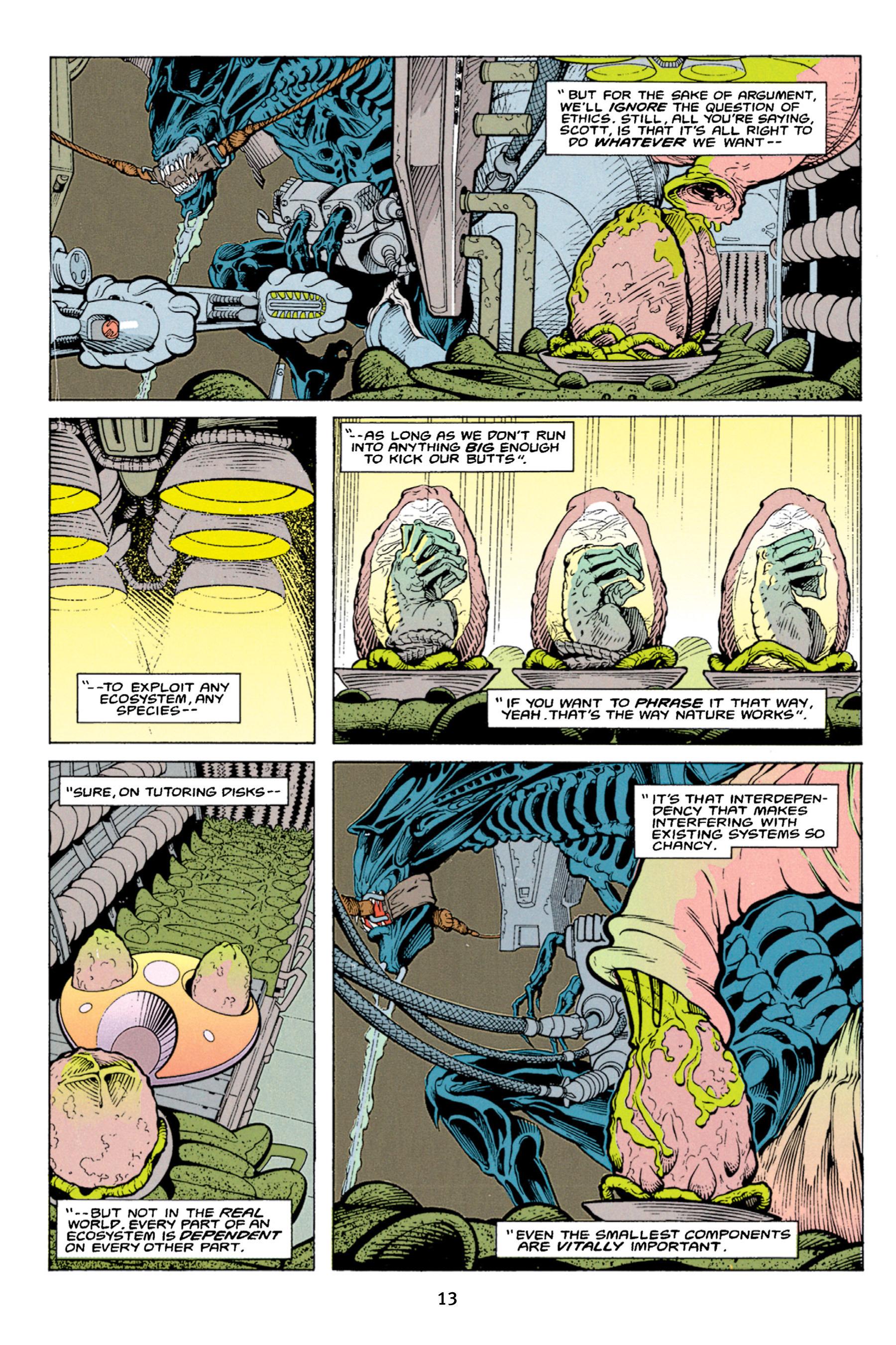 Read online Aliens vs. Predator Omnibus comic -  Issue # _TPB 1 Part 1 - 13