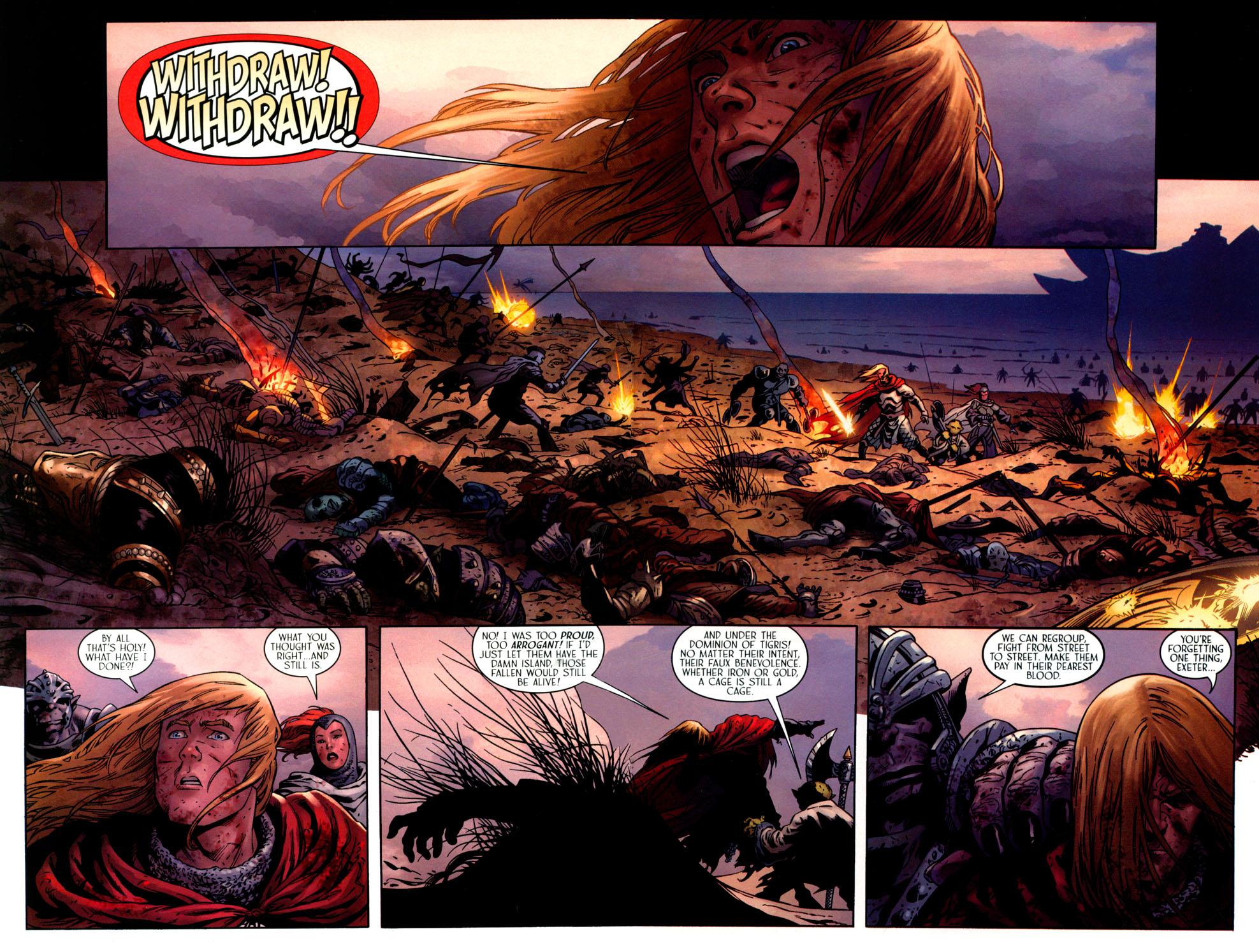 Read online Scion comic -  Issue #41 - 17