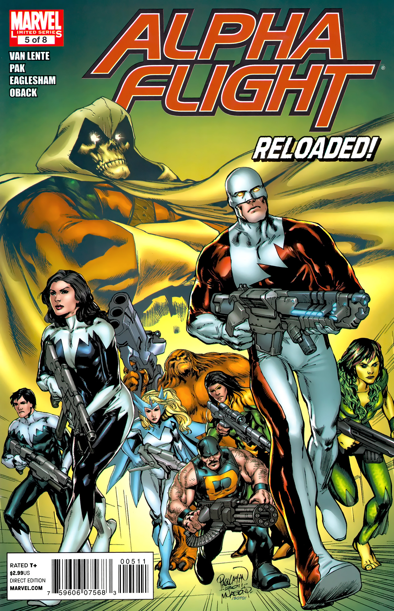 Read online Alpha Flight (2011) comic -  Issue #5 - 1
