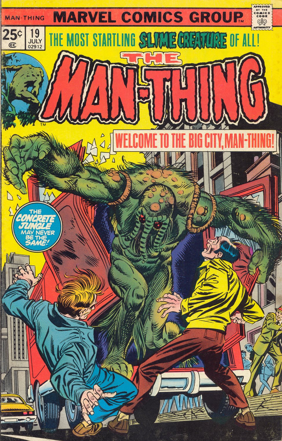 Man-Thing (1974) issue 19 - Page 1