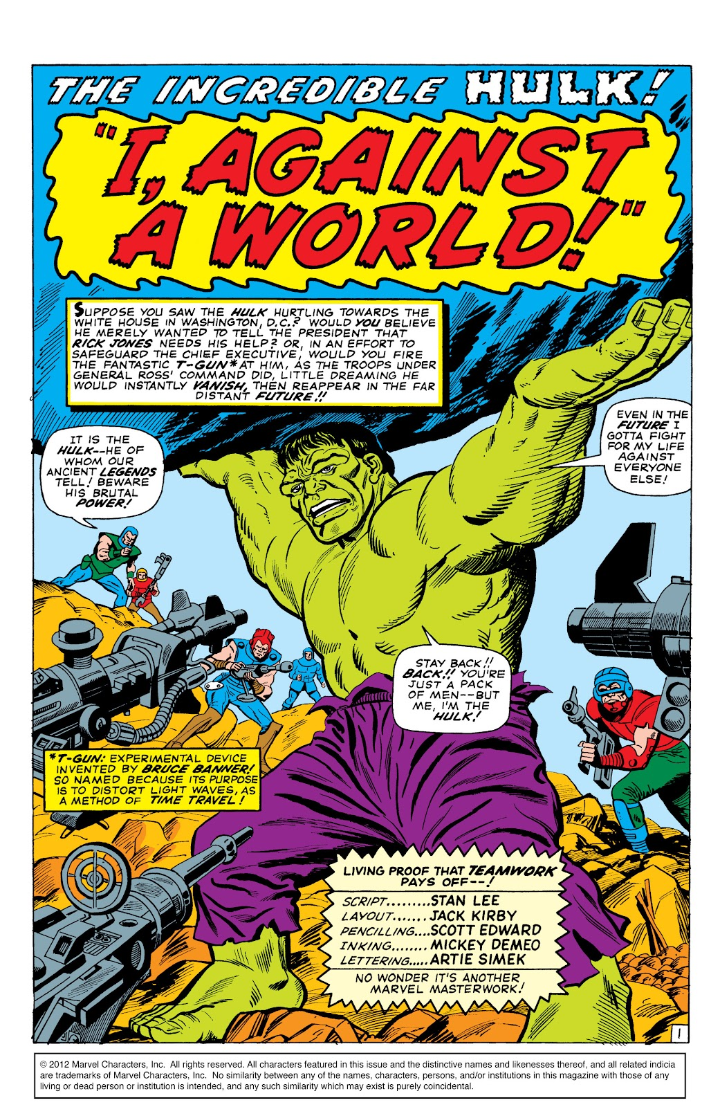 Read online Marvel Masterworks: The Incredible Hulk comic -  Issue # TPB 2 (Part 3) - 1
