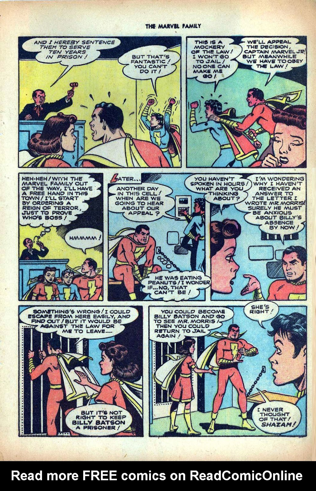 The Marvel Family issue 25 - Page 9
