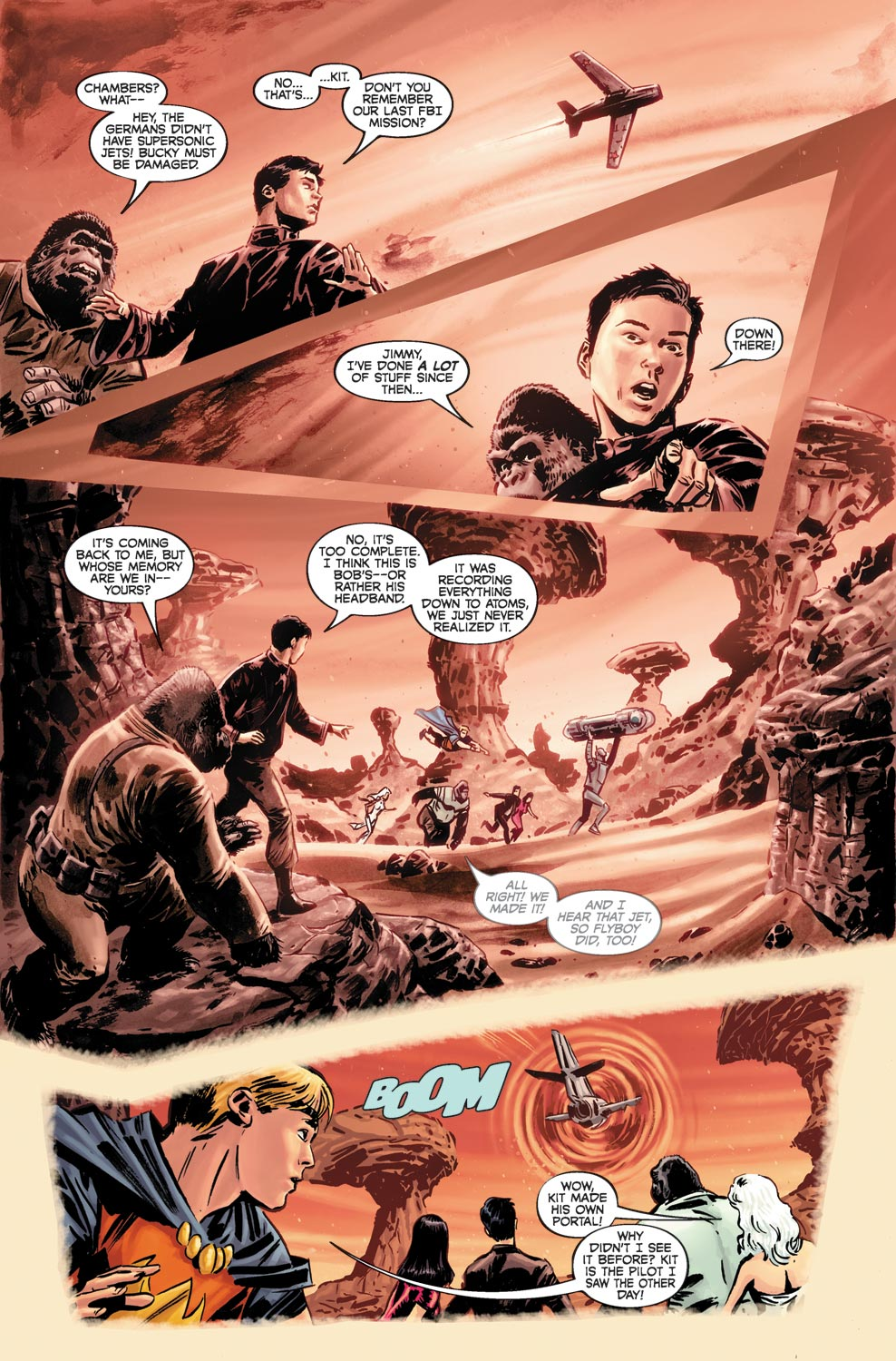 Read online Agents Of Atlas (2009) comic -  Issue #4 - 17
