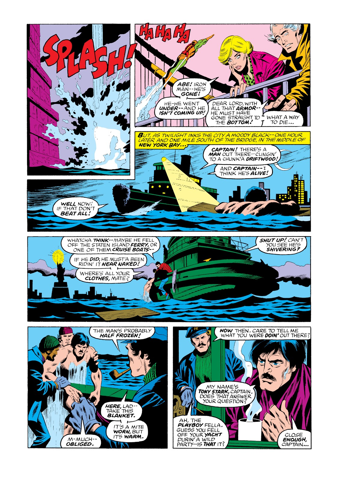 Read online Marvel Masterworks: The Invincible Iron Man comic -  Issue # TPB 11 (Part 3) - 39