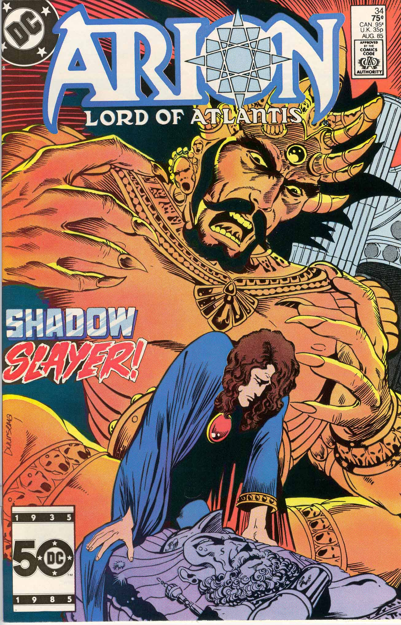 Read online Arion, Lord of Atlantis comic -  Issue #34 - 1