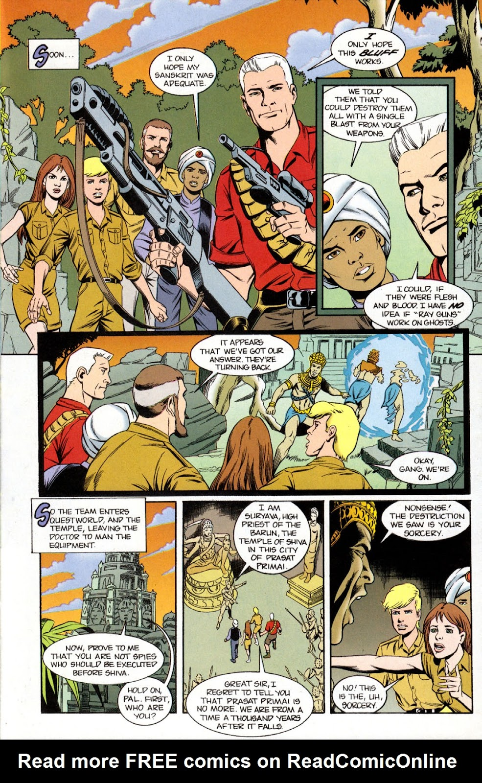 Read online The Real Adventures of Jonny Quest comic -  Issue #11 - 23