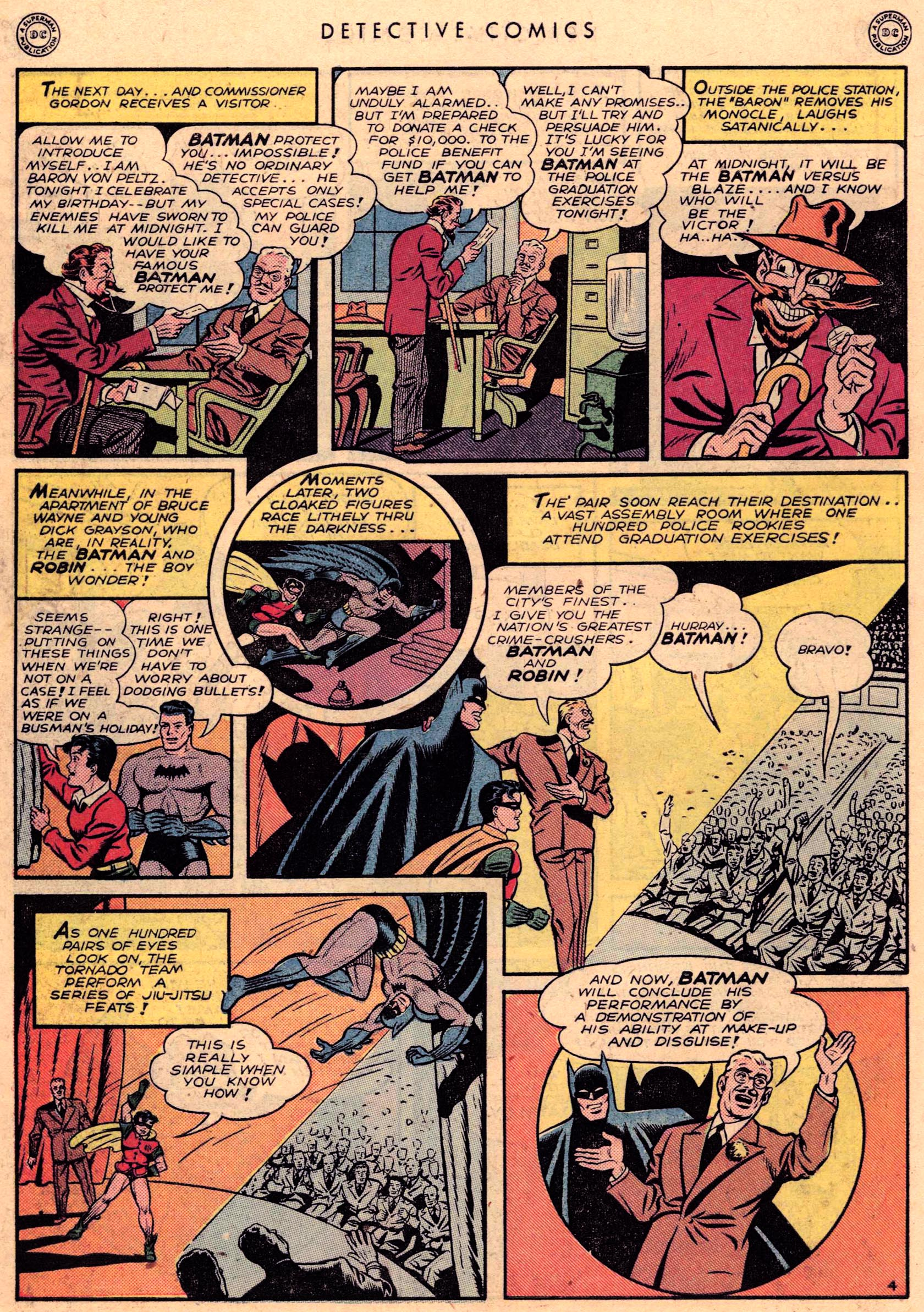 Read online Detective Comics (1937) comic -  Issue #95 - 6