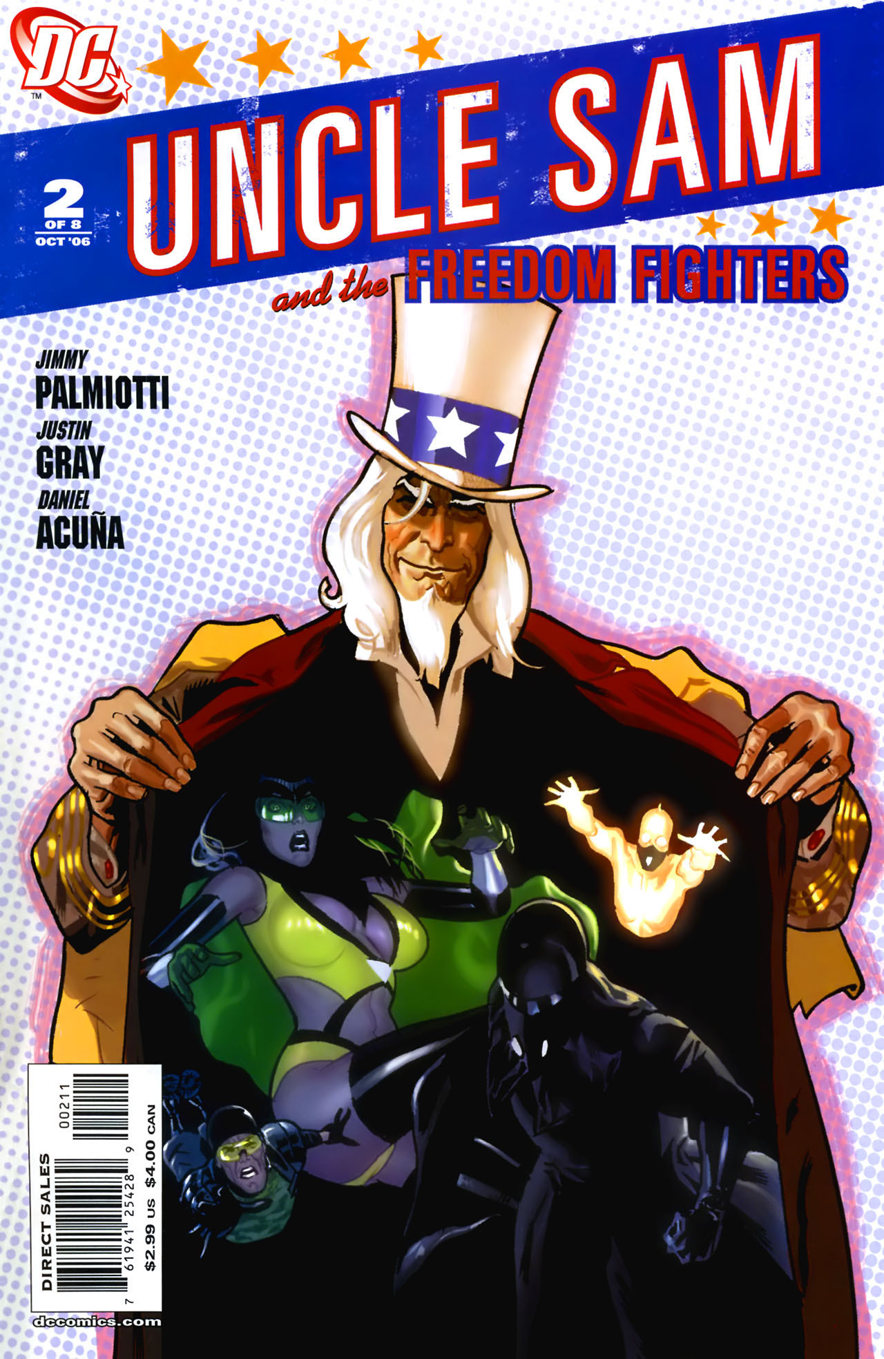 Read online Uncle Sam and the Freedom Fighters (2006) comic -  Issue #2 - 2