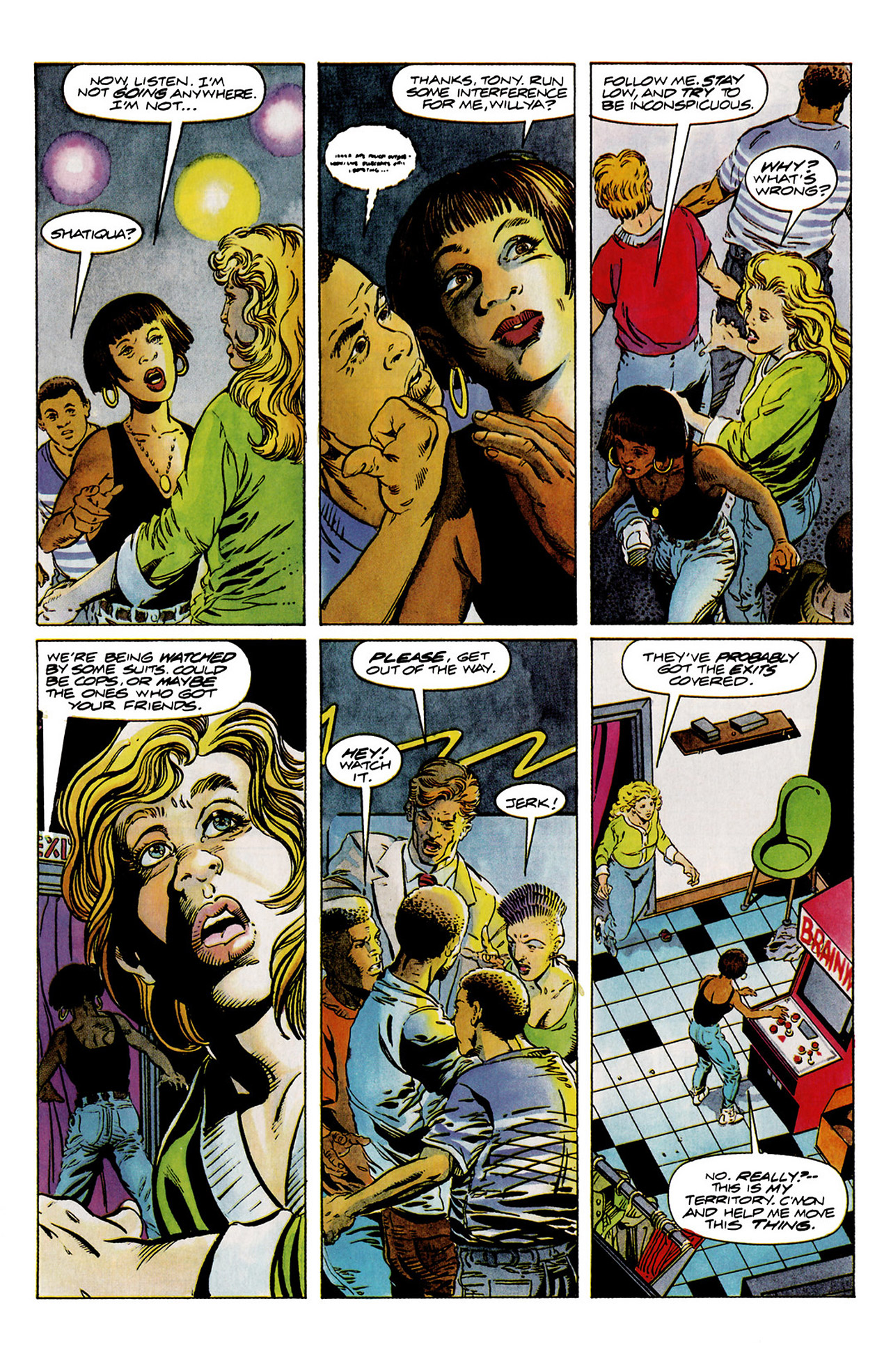 Read online Harbinger (1992) comic -  Issue #11 - 9