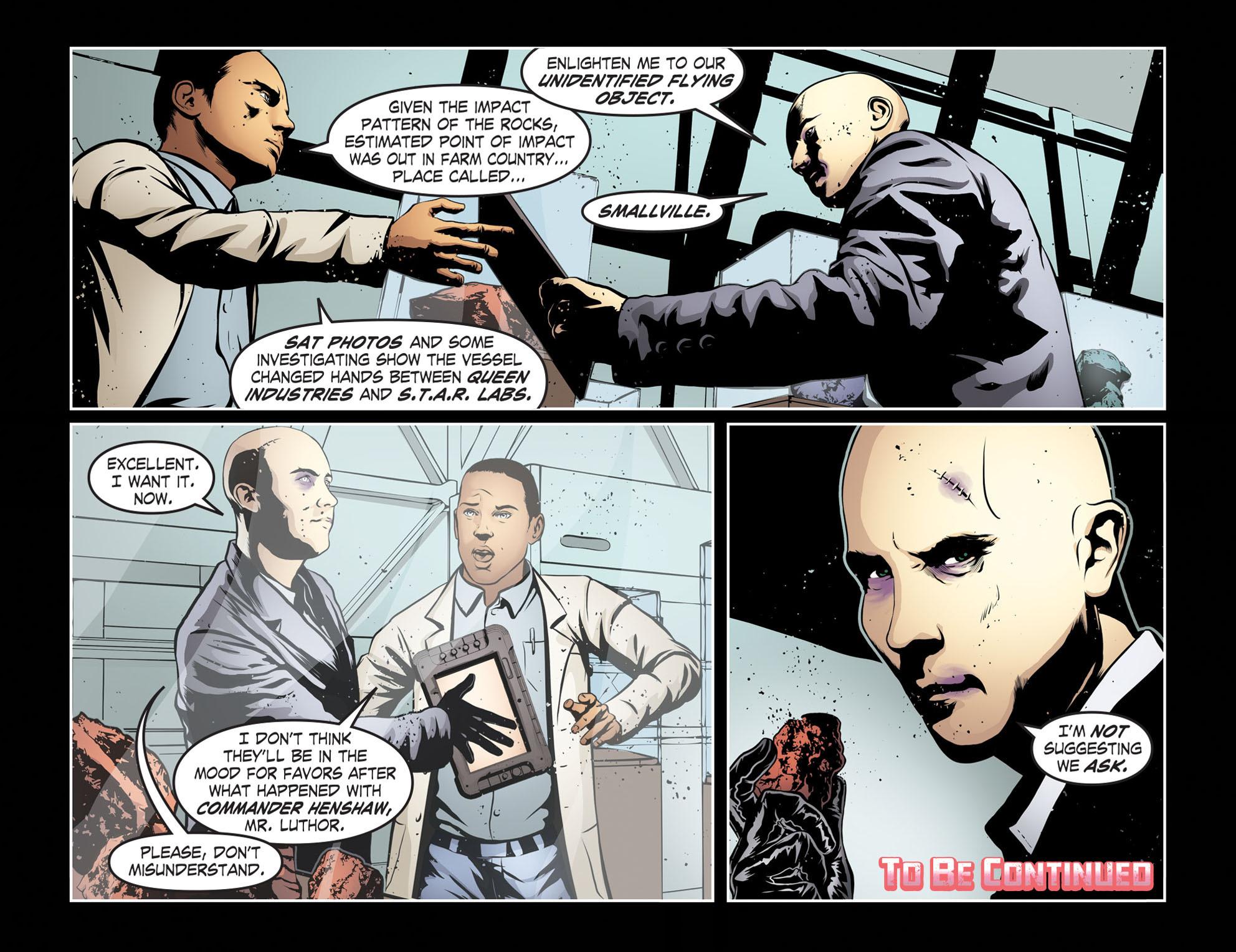 Read online Smallville: Season 11 comic -  Issue #55 - 22