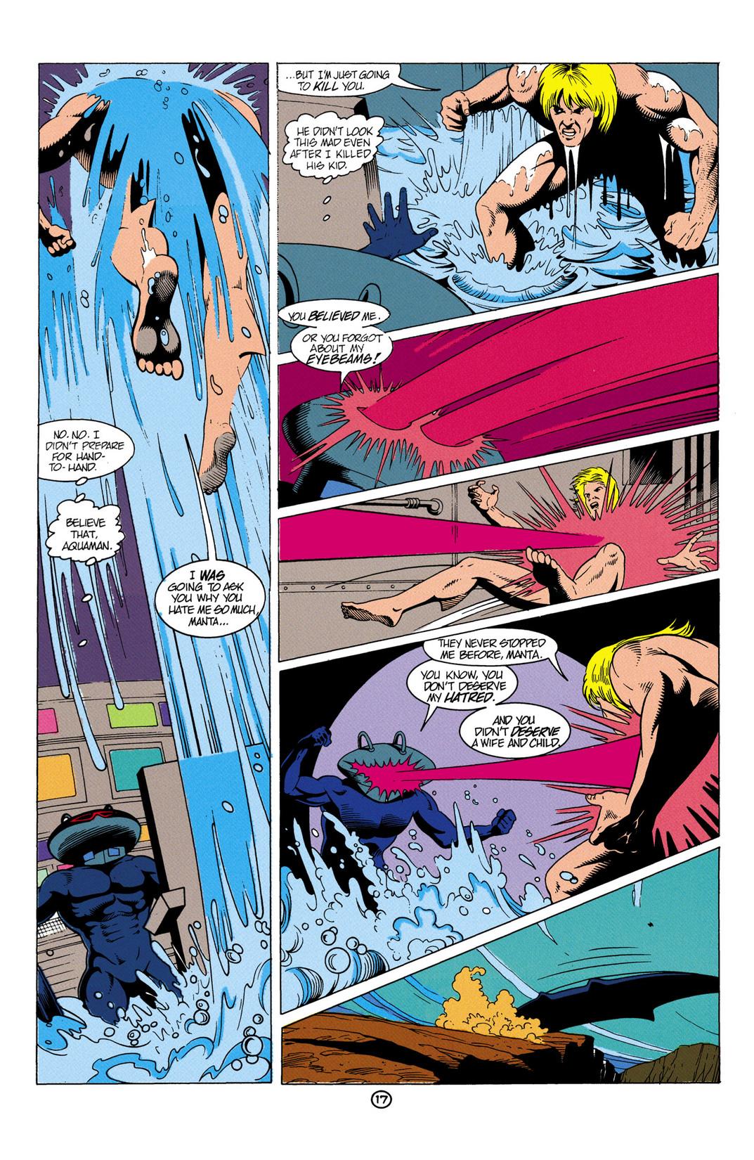 Read online Aquaman (1991) comic -  Issue #6 - 18