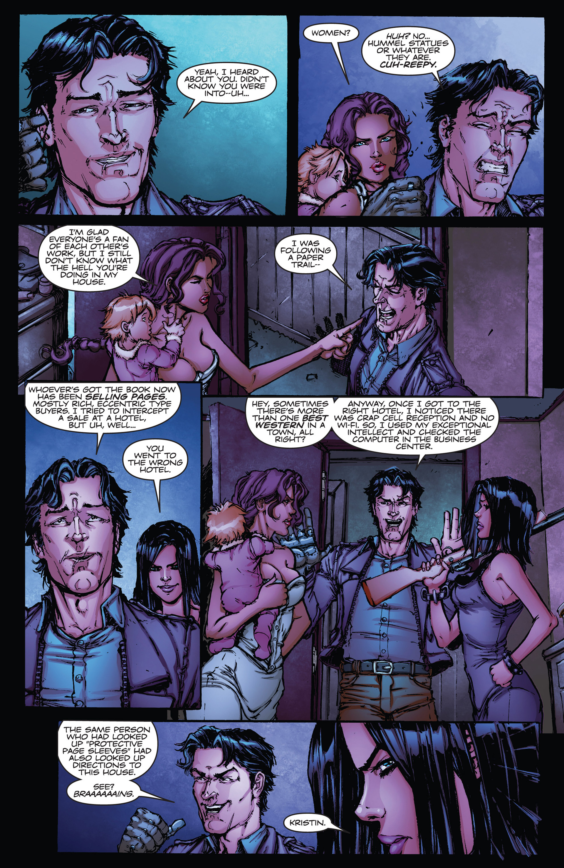 Read online Army of Darkness vs. Hack/Slash comic -  Issue #1 - 17