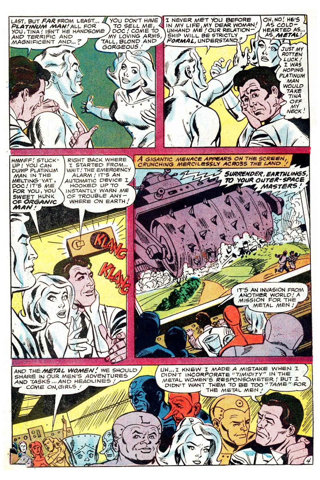 Metal Men (1963) issue 32 - Page 6
