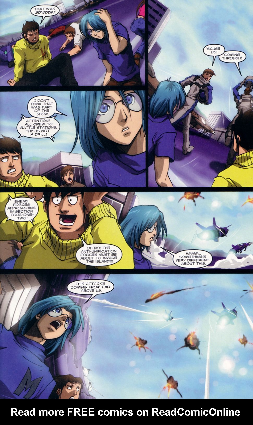 Read online Robotech: Love and War comic -  Issue #1 - 7