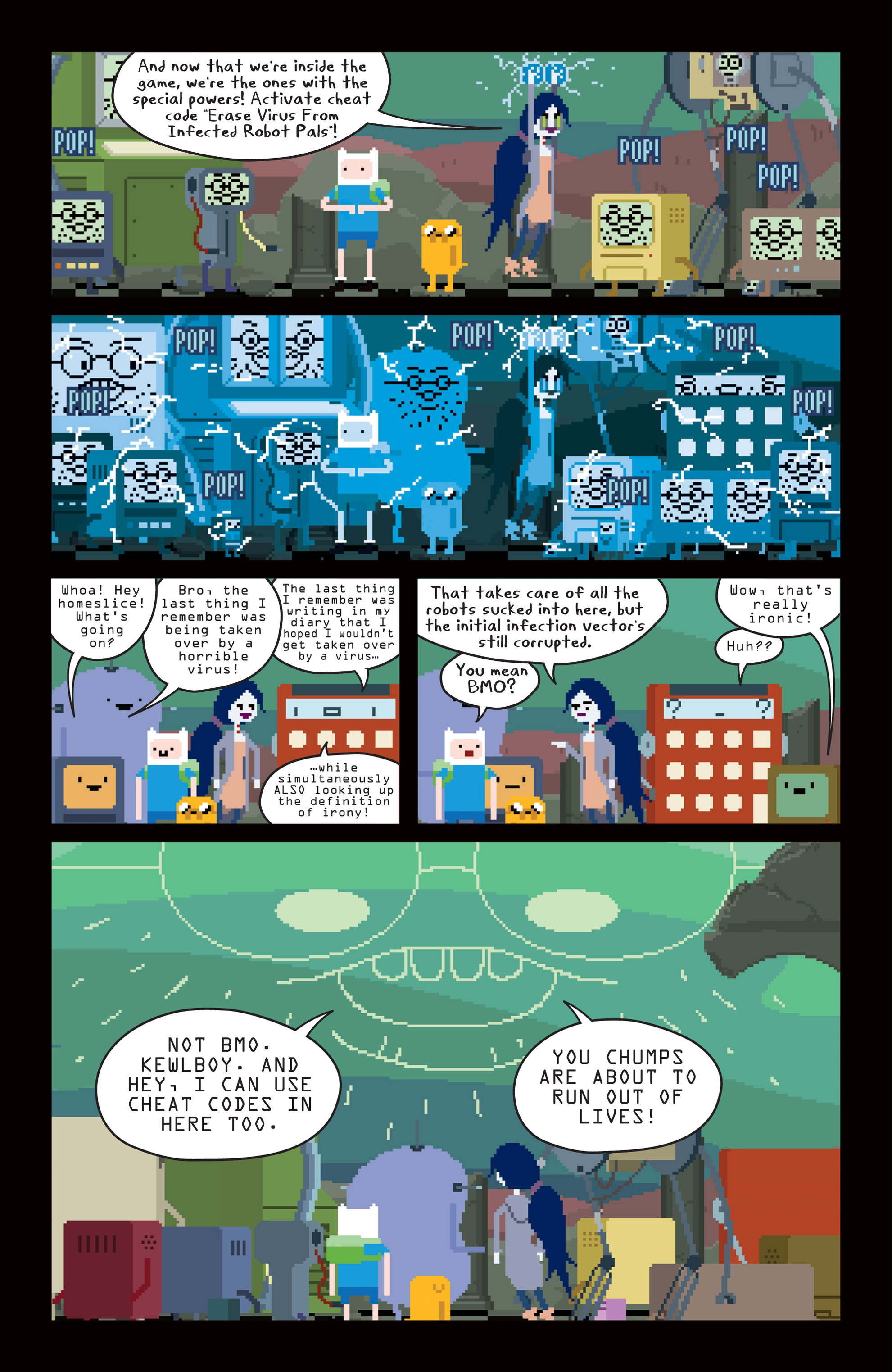 Read online Adventure Time comic -  Issue #14 - 14