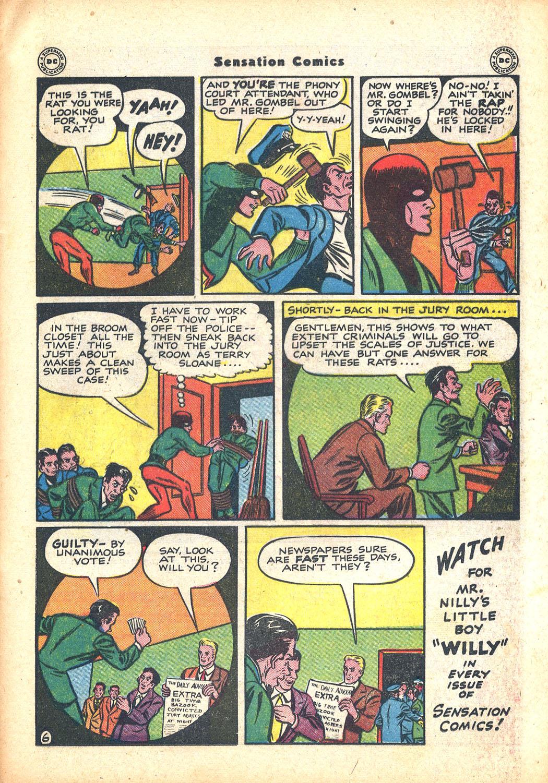 Read online Sensation (Mystery) Comics comic -  Issue #63 - 37