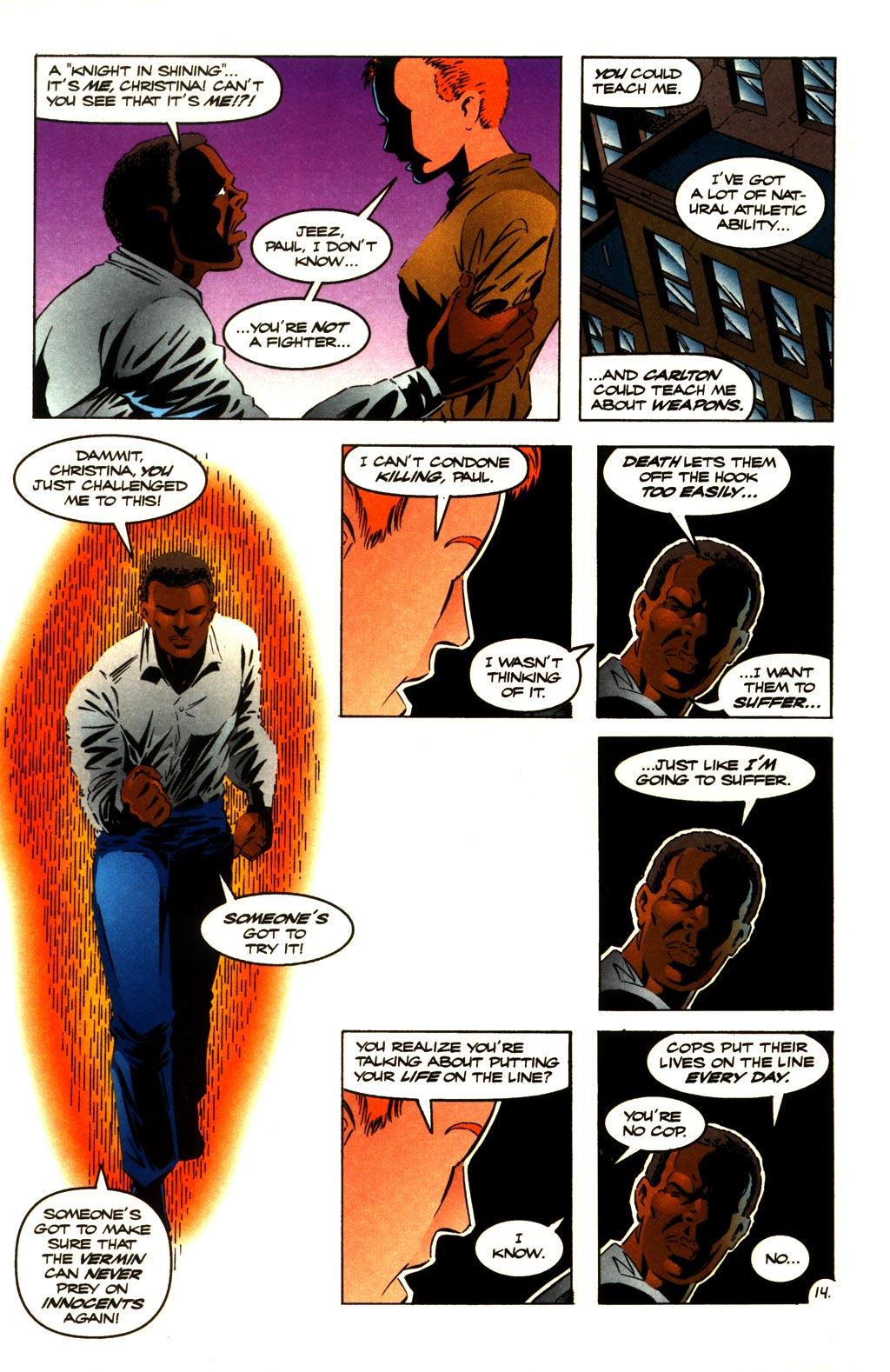Read online ShadowHawk comic -  Issue #10 - 16