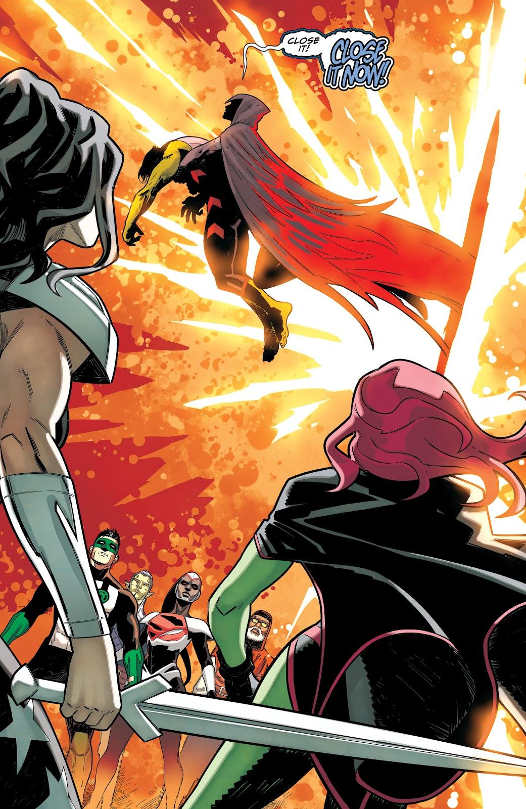 Read online Titans (2016) comic -  Issue #36 - 16