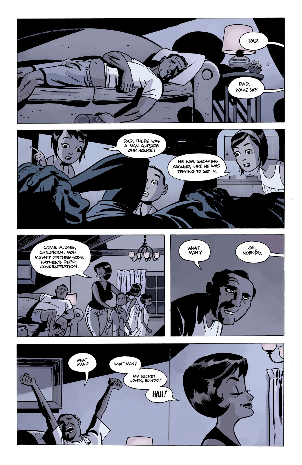 Read online The Twilight Children comic -  Issue #2 - 3