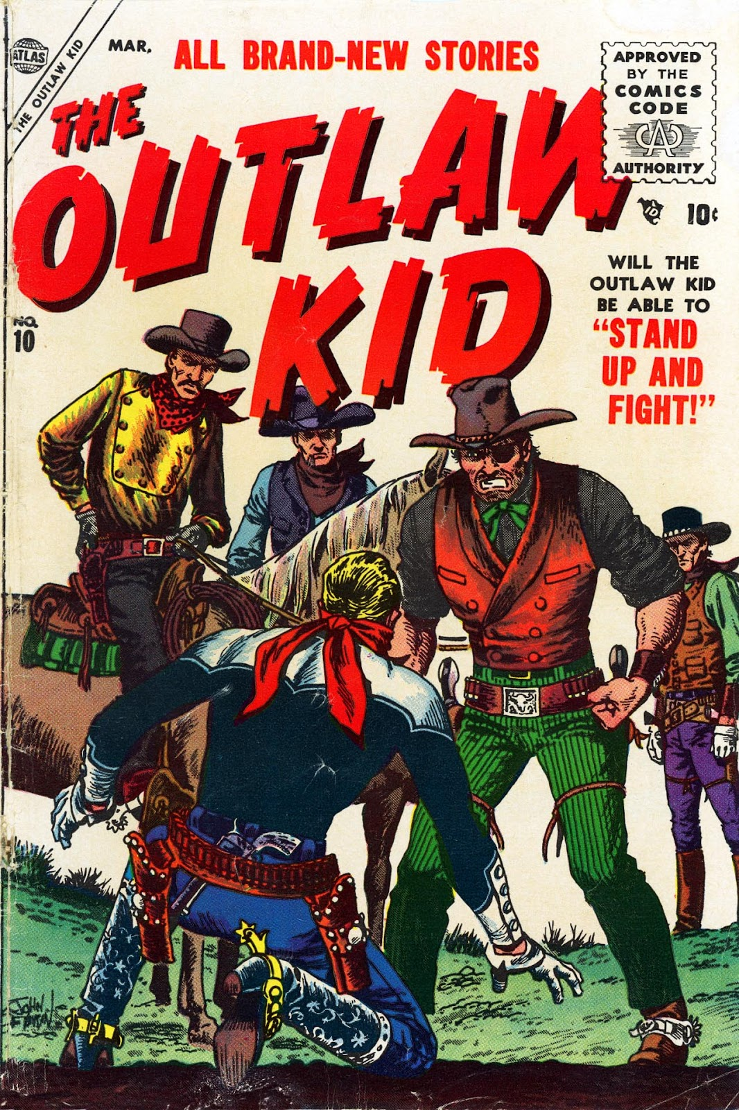 The Outlaw Kid (1954) issue 10 - Page 1