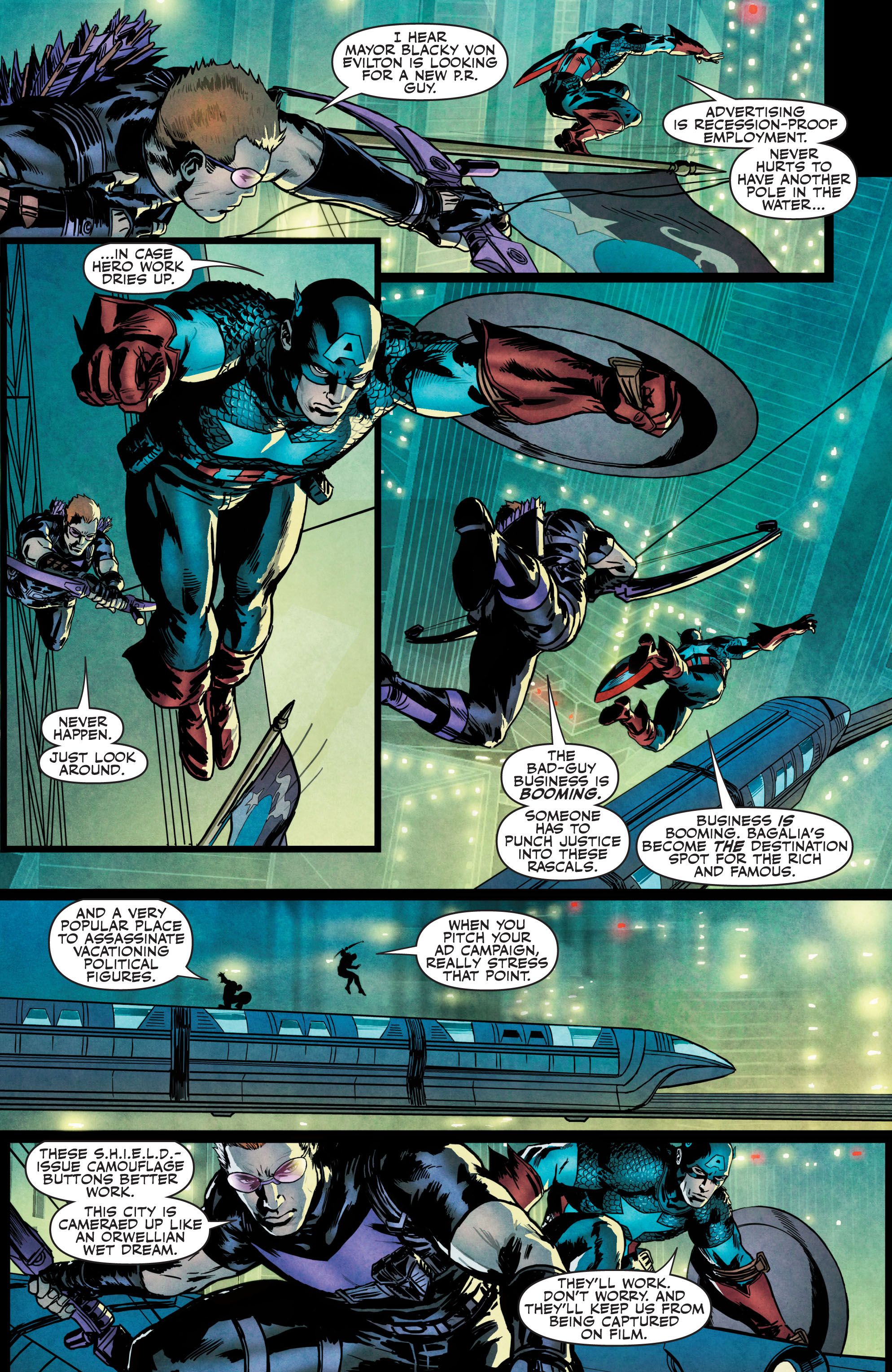 Read online Secret Avengers (2010) comic -  Issue #21.1 - 4
