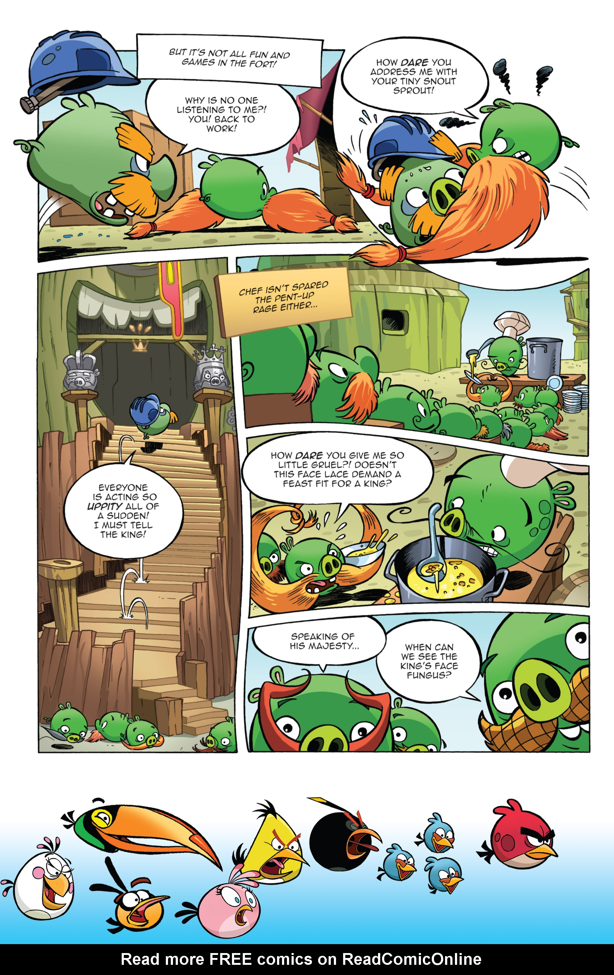 Read online Angry Birds Comics (2014) comic -  Issue #11 - 10