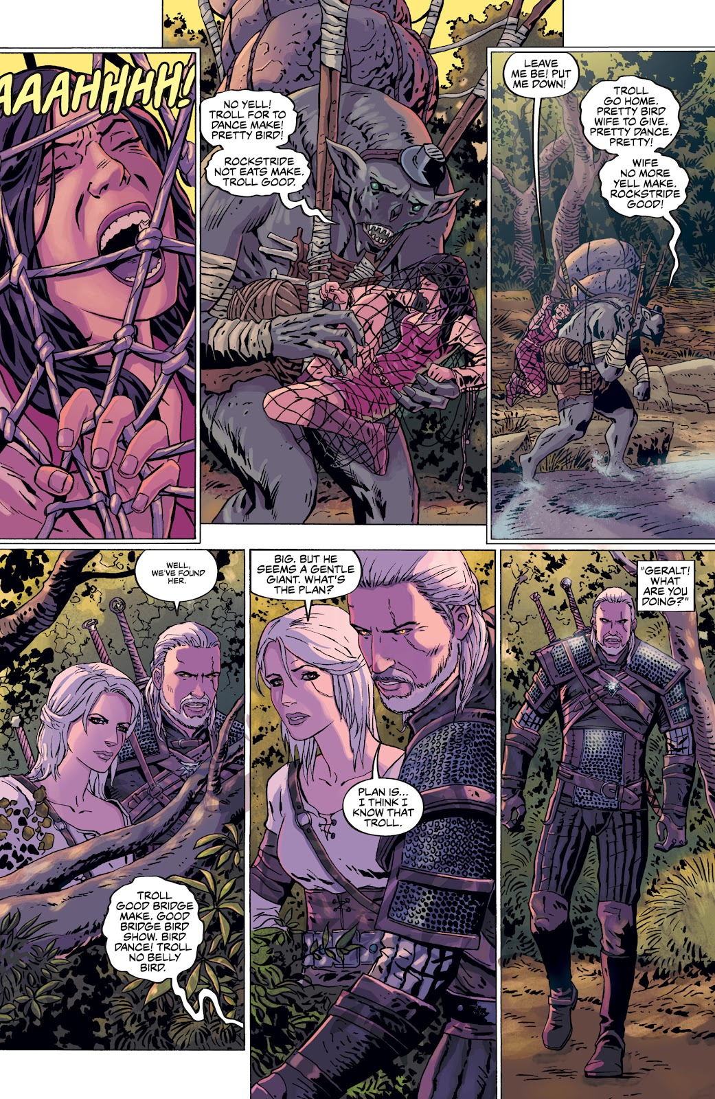 Read online The Witcher Omnibus comic -  Issue # TPB (Part 3) - 97