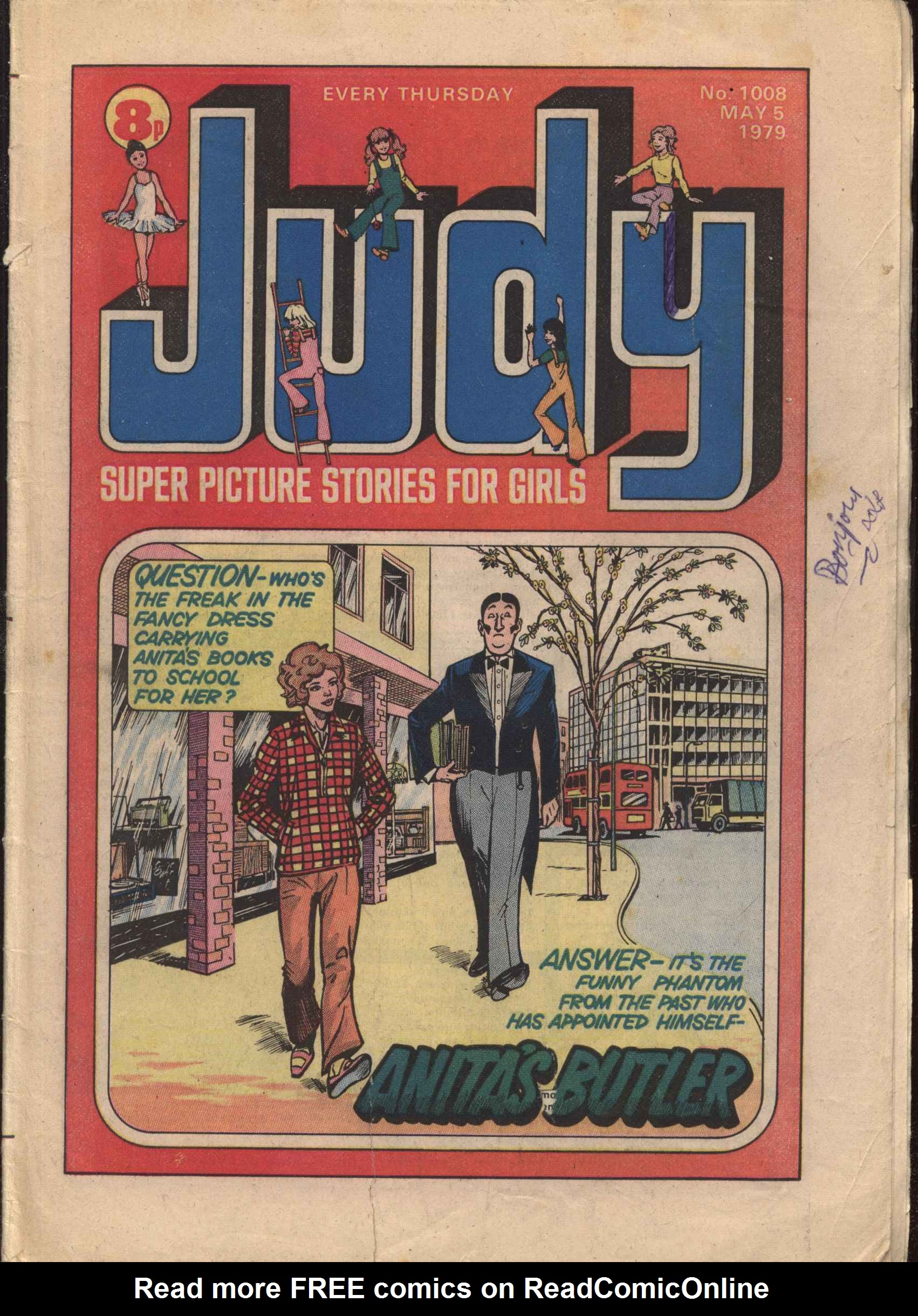 Read online Judy comic -  Issue #8 - 1