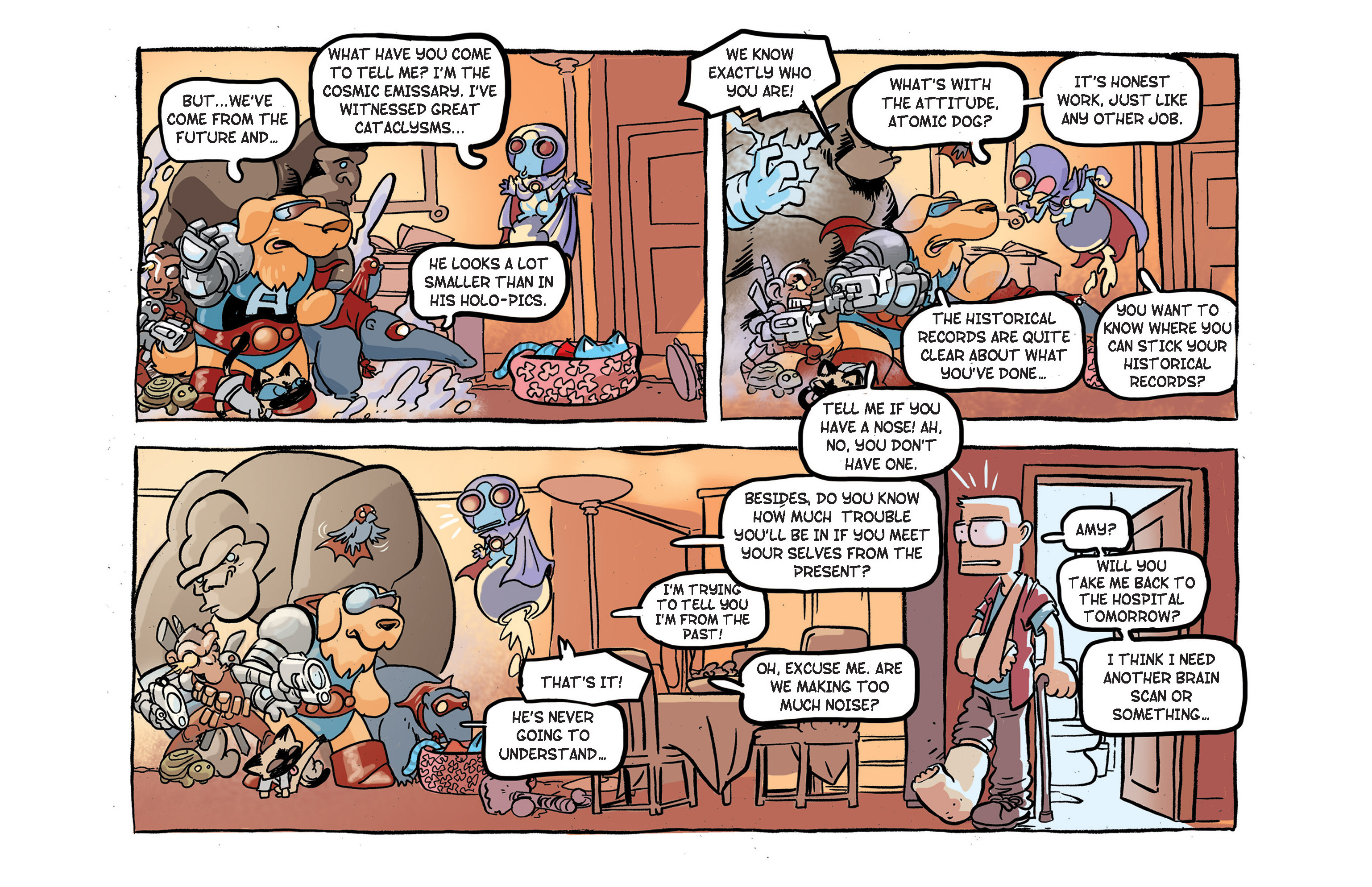 Read online Ultracat comic -  Issue #3 - 12