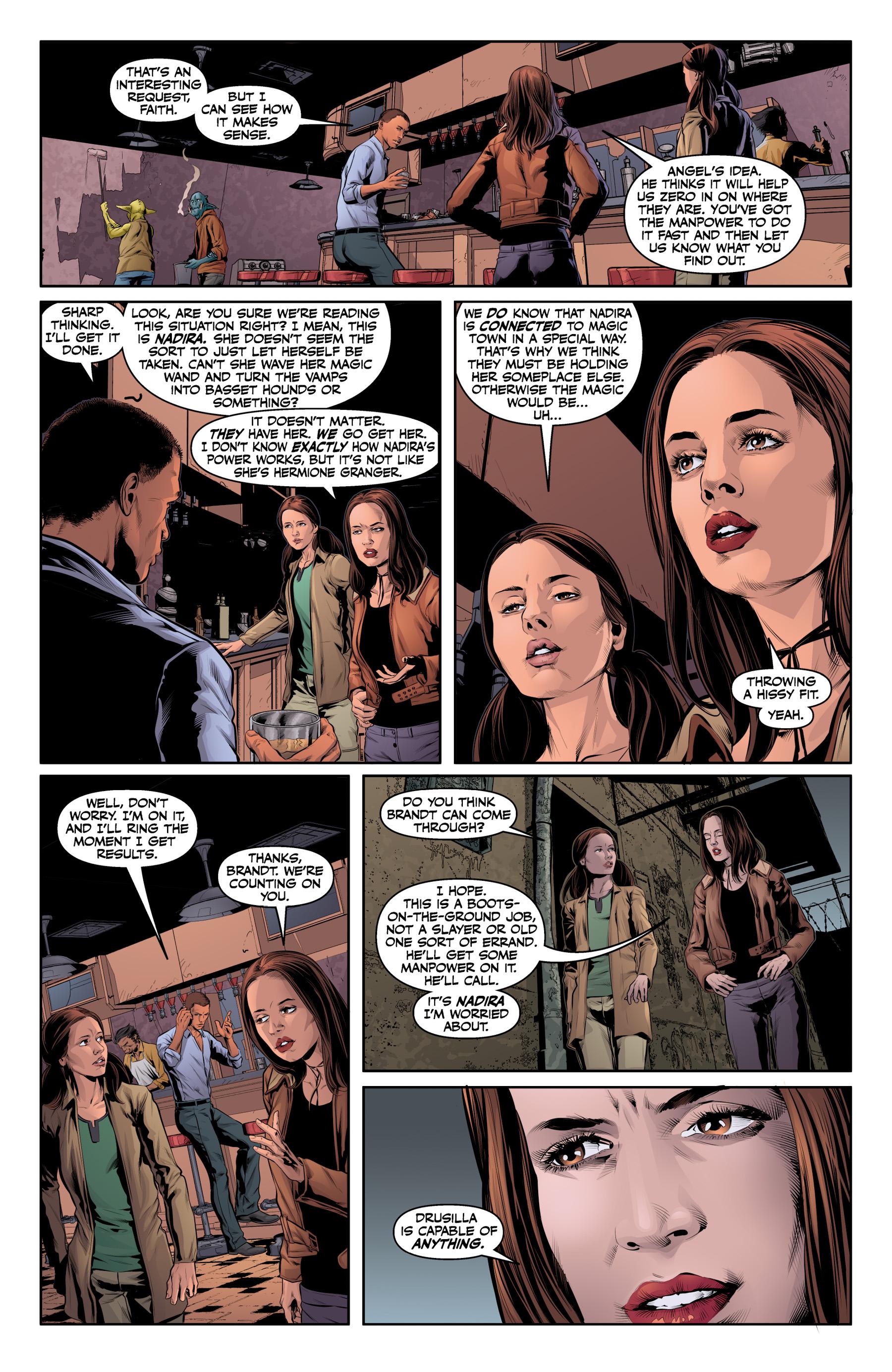 Read online Angel & Faith Season 10 comic -  Issue #20 - 10