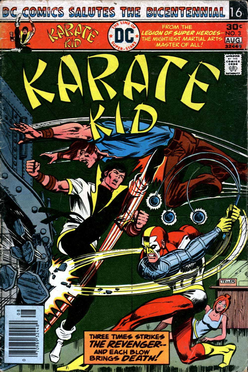 Karate Kid issue 3 - Page 1